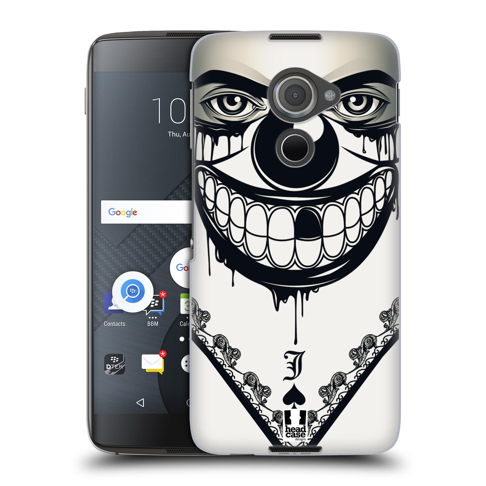 Plastové pouzdro na mobil Blackberry DTEK60 (Argon) - Head Case ZLEJ KLAUN