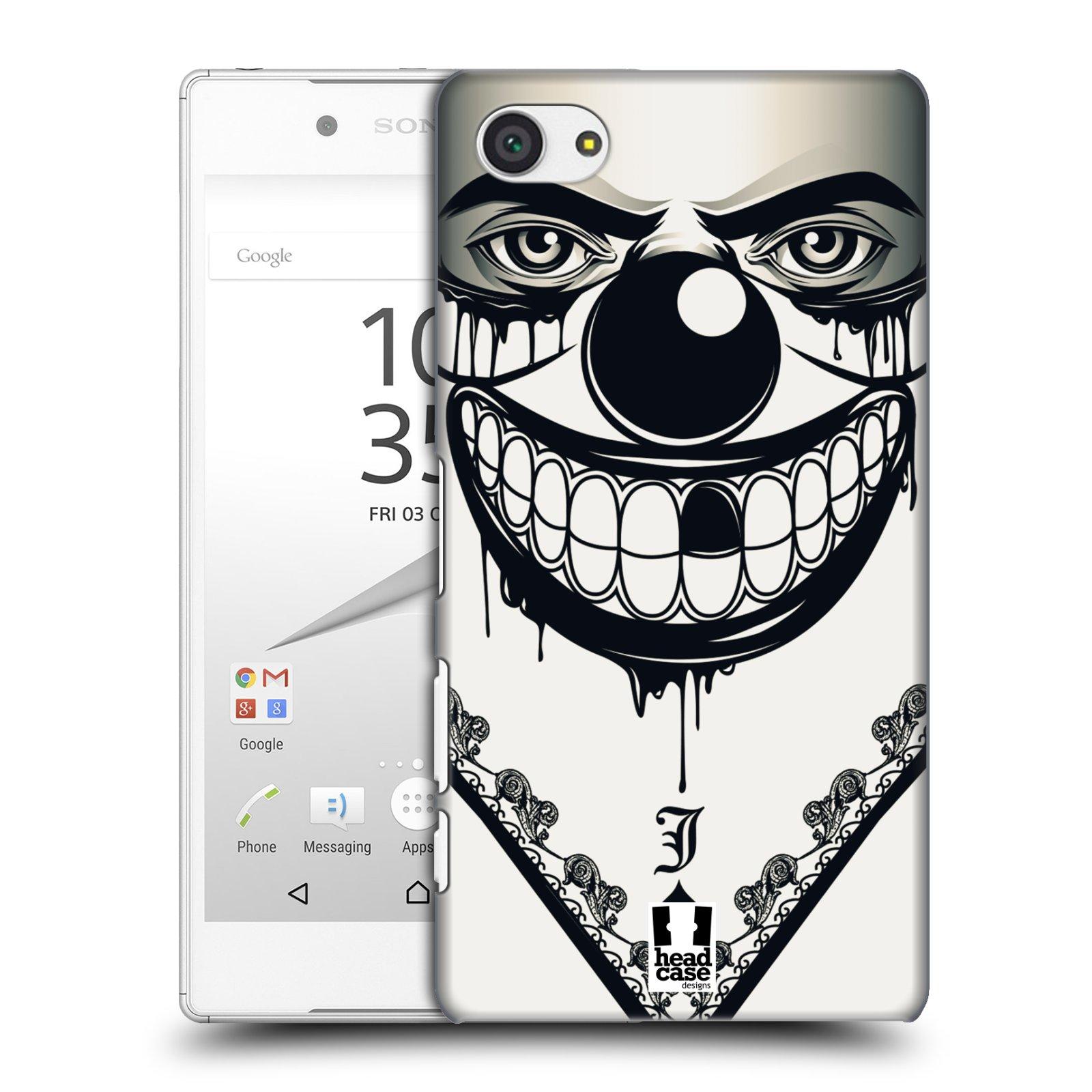 Plastové pouzdro na mobil Sony Xperia Z5 Compact HEAD CASE ZLEJ KLAUN