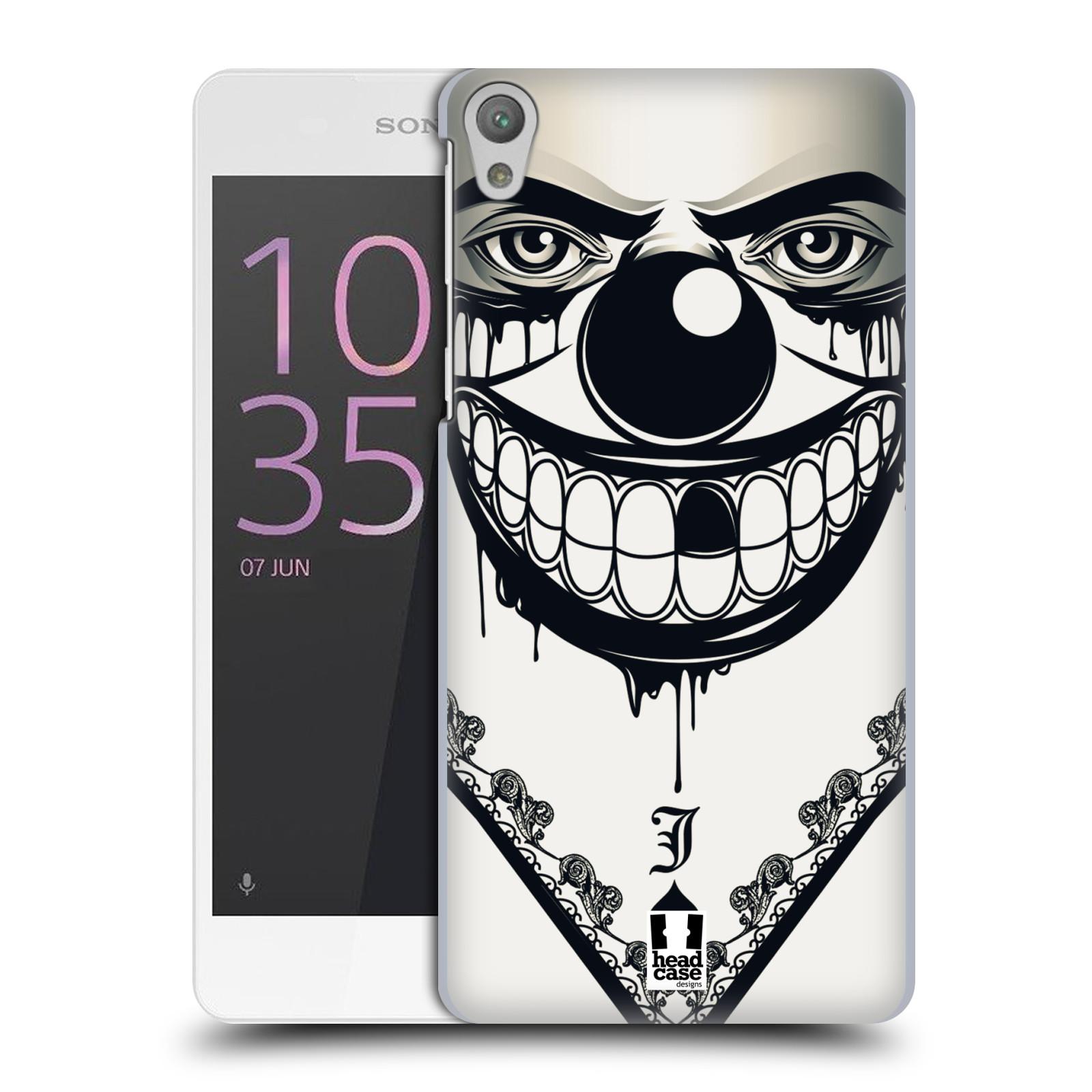 Plastové pouzdro na mobil Sony Xperia E5 HEAD CASE ZLEJ KLAUN