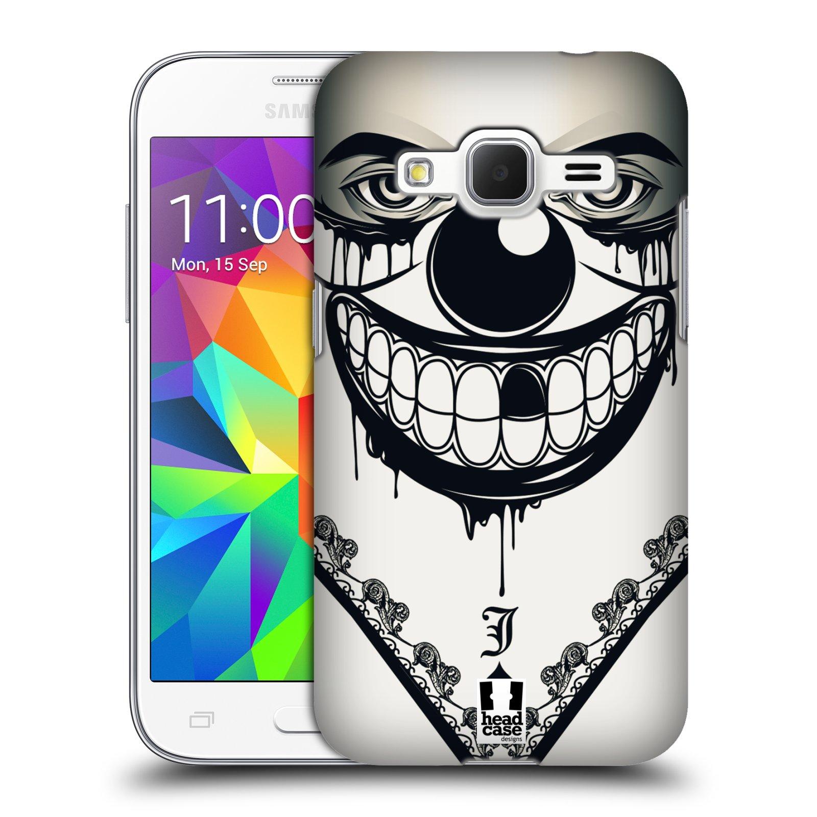Plastové pouzdro na mobil Samsung Galaxy Core Prime LTE HEAD CASE ZLEJ KLAUN