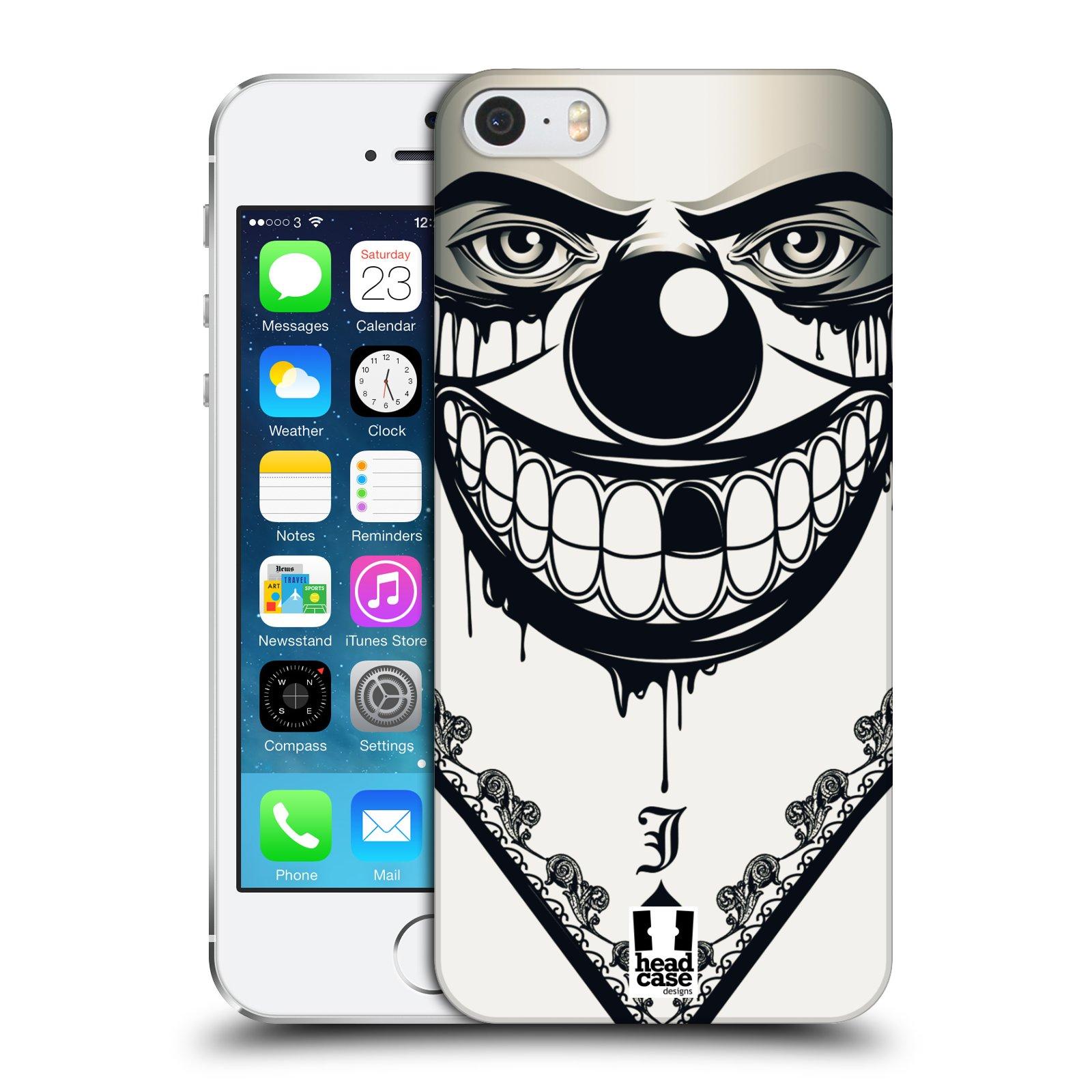 Plastové pouzdro na mobil Apple iPhone SE, 5 a 5S HEAD CASE ZLEJ KLAUN