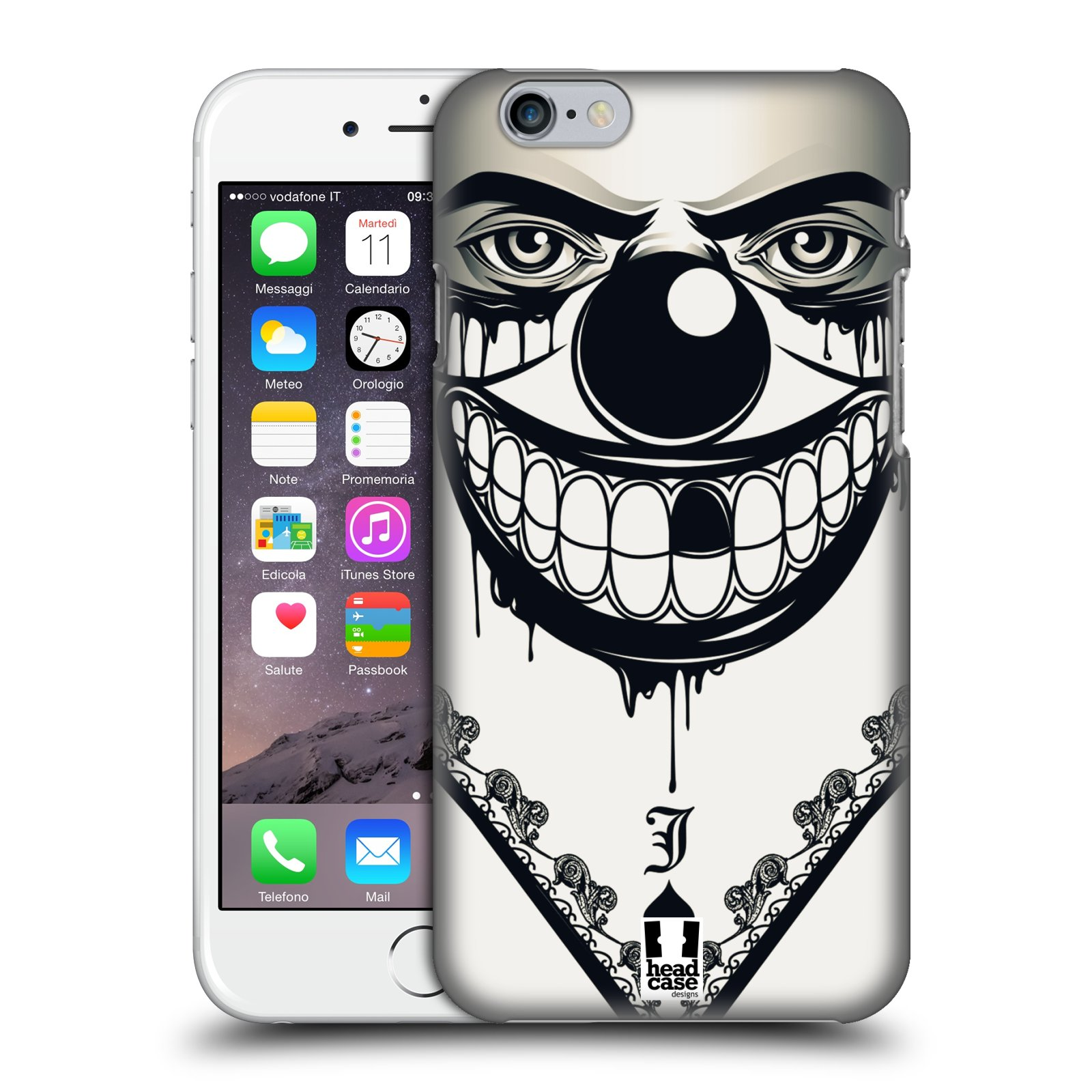 Plastové pouzdro na mobil Apple iPhone 6 a 6S HEAD CASE ZLEJ KLAUN