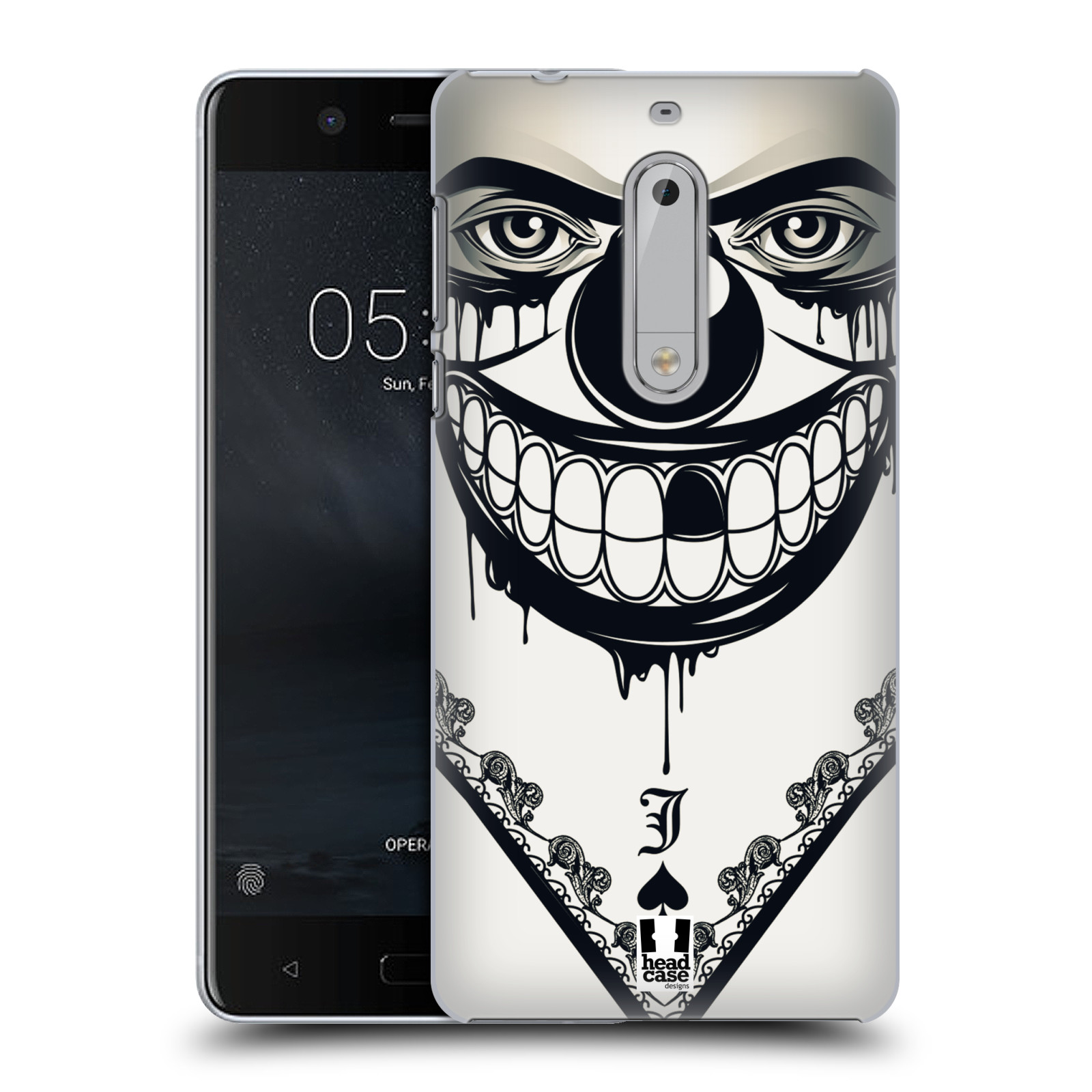 Plastové pouzdro na mobil Nokia 5 Head Case - ZLEJ KLAUN