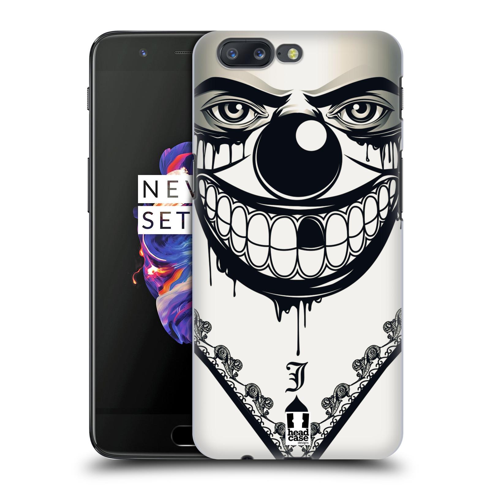 Plastové pouzdro na mobil OnePlus 5 - Head Case - ZLEJ KLAUN