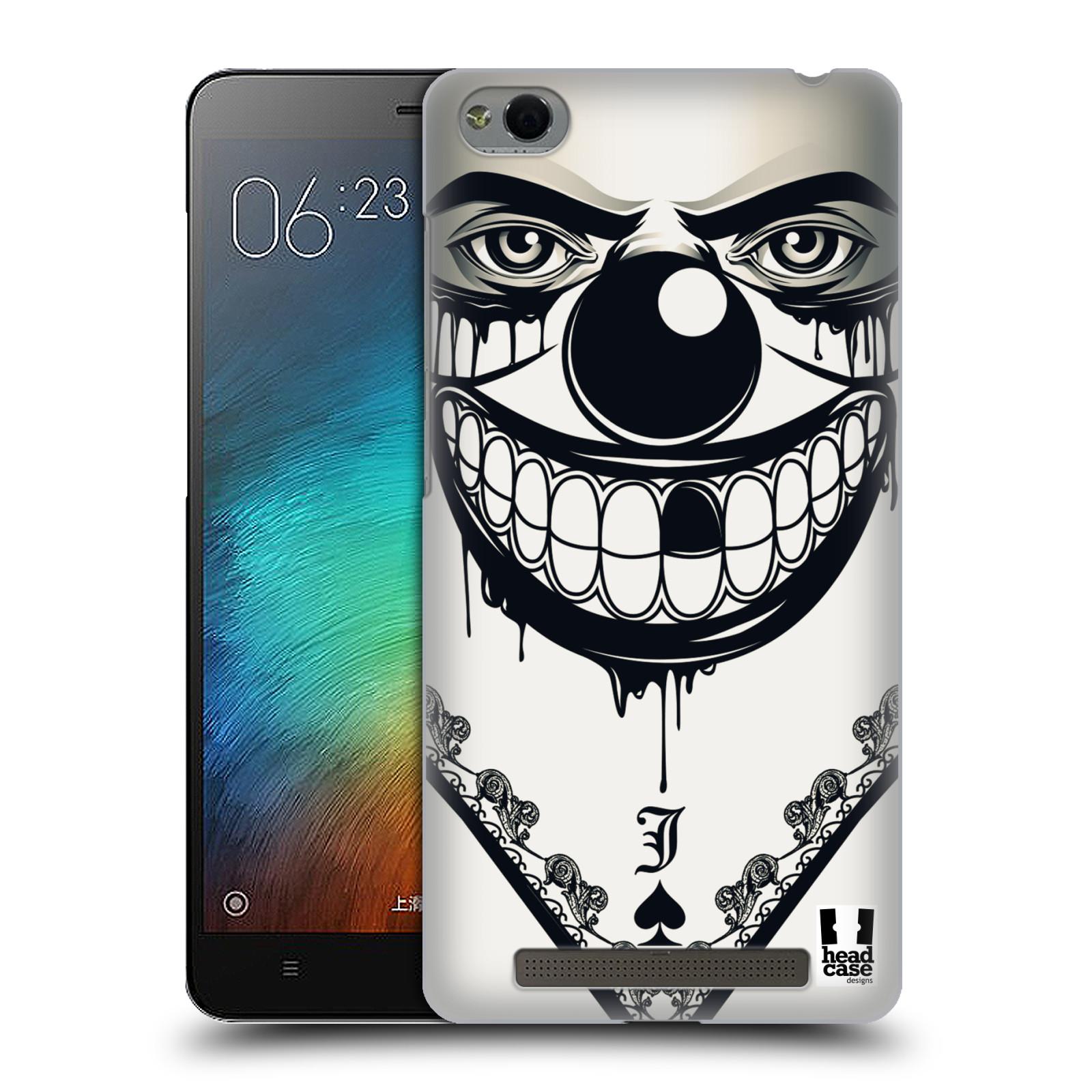 Plastové pouzdro na mobil Xiaomi Redmi 3 HEAD CASE ZLEJ KLAUN