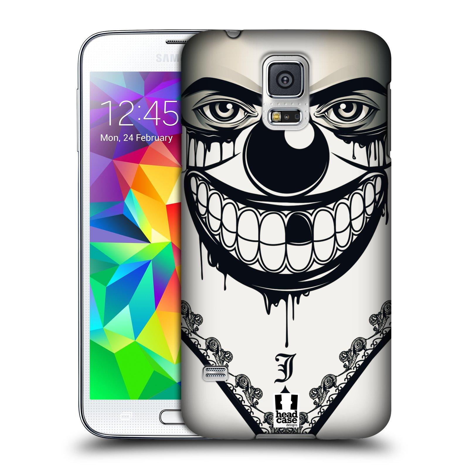 Plastové pouzdro na mobil Samsung Galaxy S5 HEAD CASE ZLEJ KLAUN