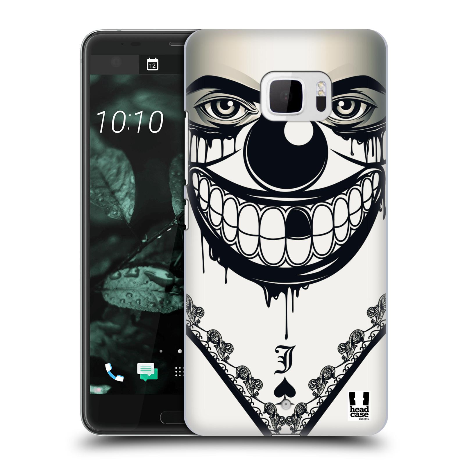 Plastové pouzdro na mobil HTC U Ultra Head Case - ZLEJ KLAUN (Plastový kryt či obal na mobilní telefon HTC U Ultra (99HALT015-00))