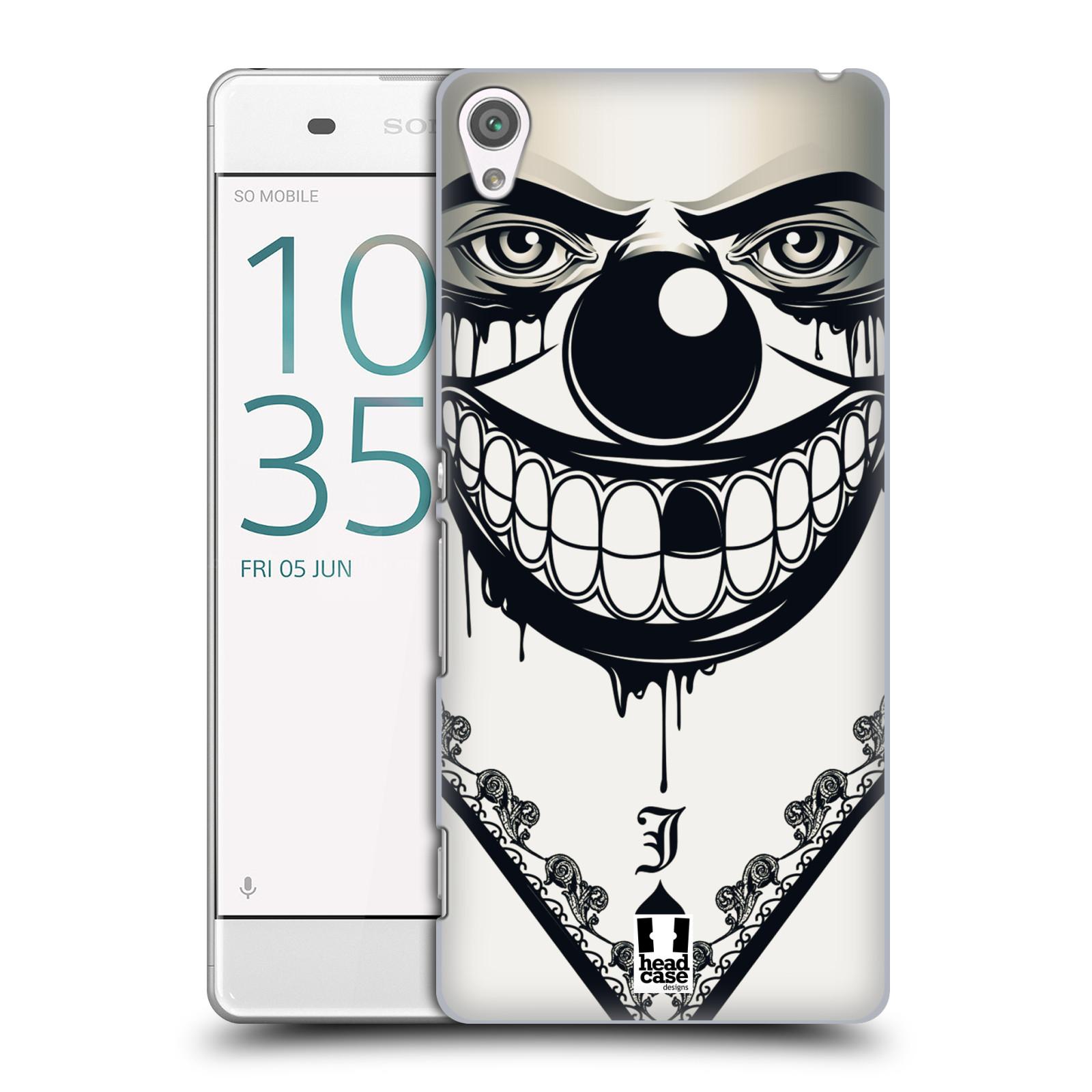 Plastové pouzdro na mobil Sony Xperia XA HEAD CASE ZLEJ KLAUN