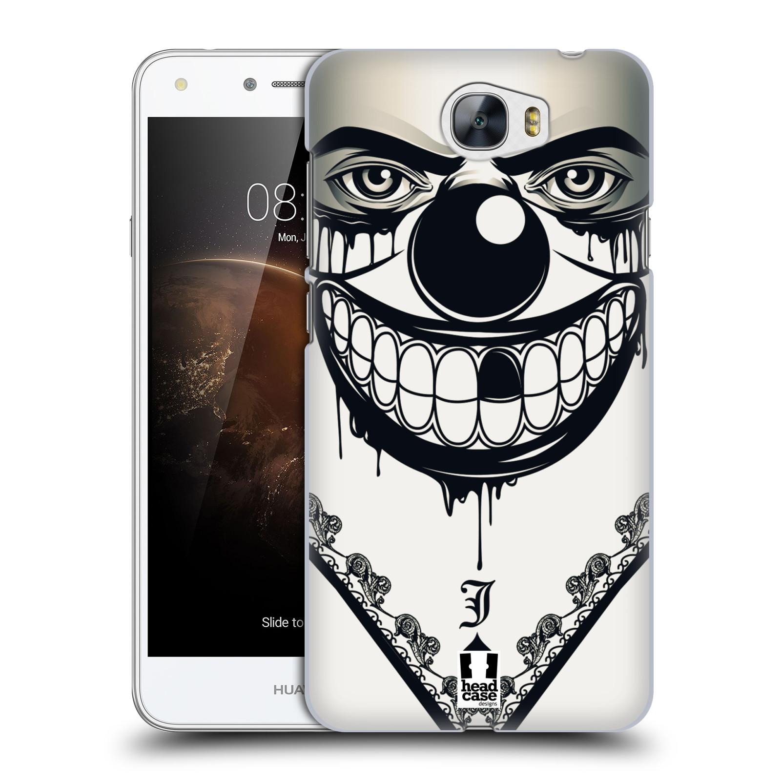 Plastové pouzdro na mobil Huawei Y5 II HEAD CASE ZLEJ KLAUN
