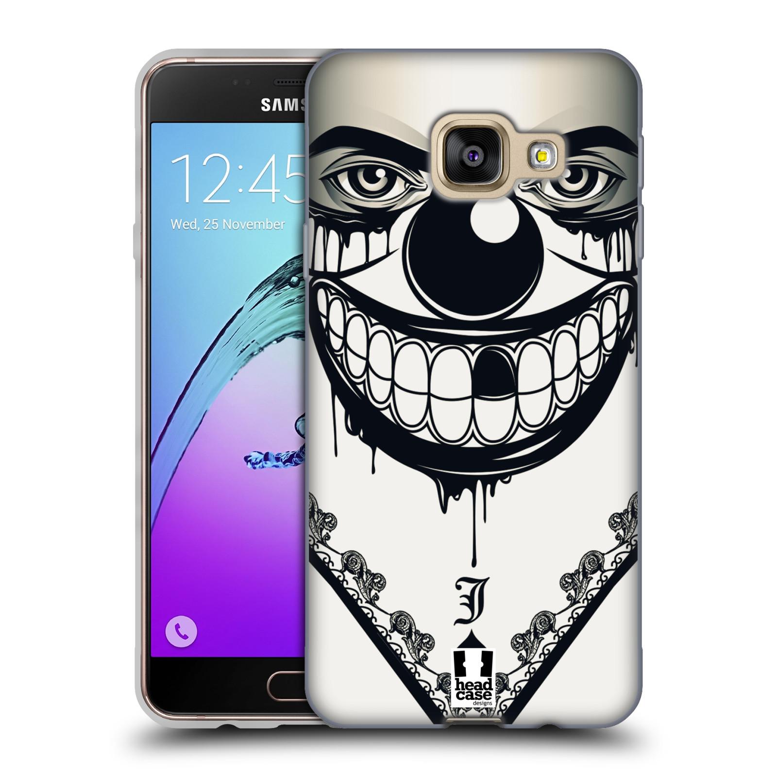 Silikonové pouzdro na mobil Samsung Galaxy A3 (2016) HEAD CASE ZLEJ KLAUN