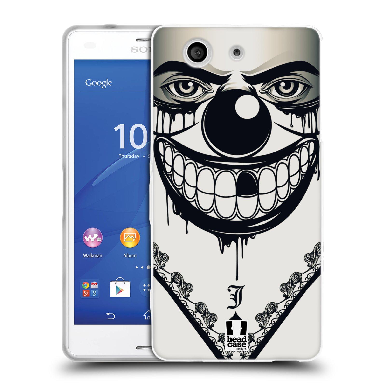 Silikonové pouzdro na mobil Sony Xperia Z3 Compact D5803 HEAD CASE ZLEJ KLAUN