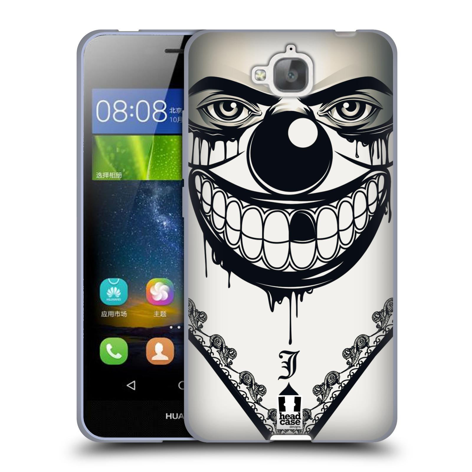Silikonové pouzdro na mobil Huawei Y6 Pro Dual Sim HEAD CASE ZLEJ KLAUN
