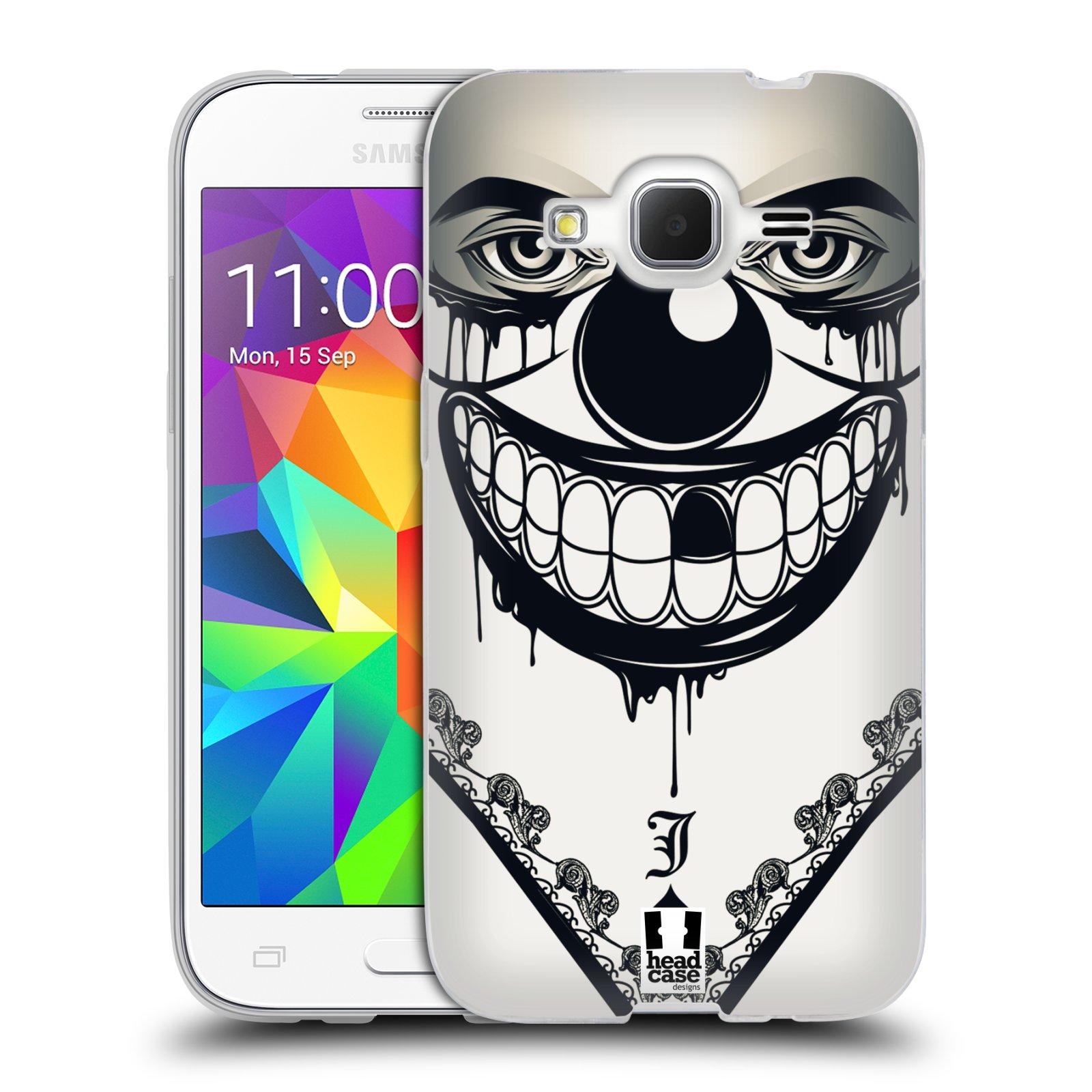 Silikonové pouzdro na mobil Samsung Galaxy Core Prime LTE HEAD CASE ZLEJ KLAUN