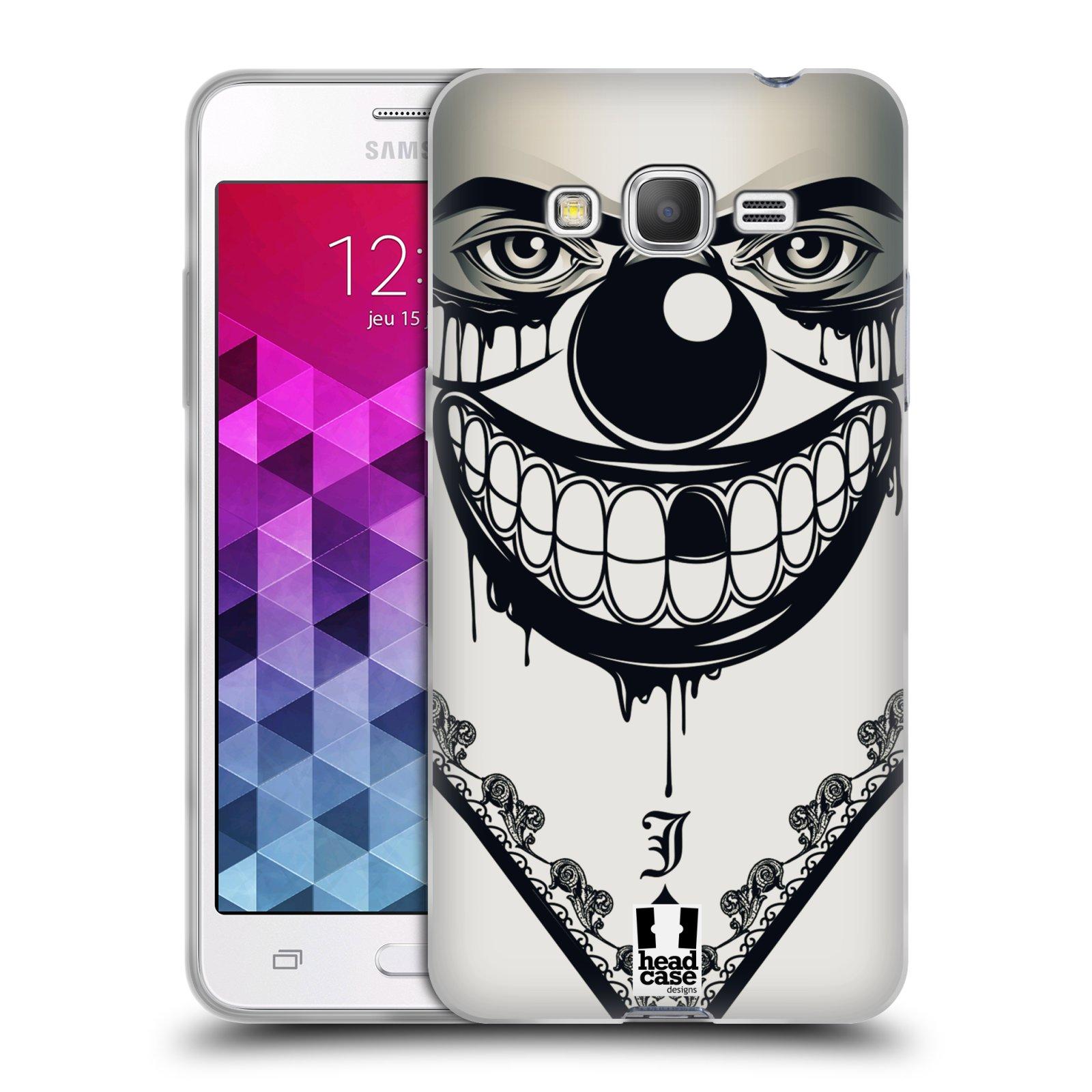 Silikonové pouzdro na mobil Samsung Galaxy Grand Prime HEAD CASE ZLEJ KLAUN