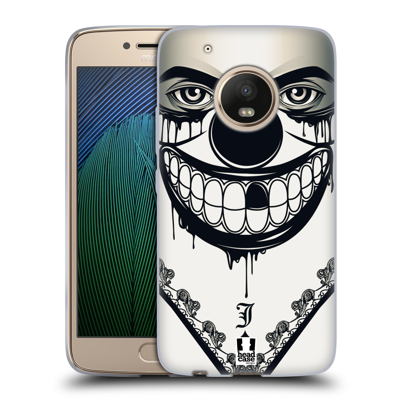 Silikonové pouzdro na mobil Lenovo Moto G5 Plus - Head Case ZLEJ KLAUN
