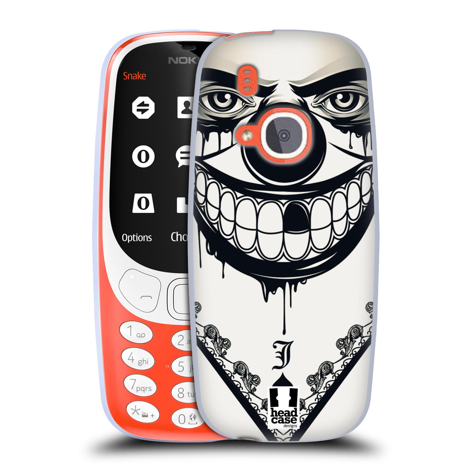 Silikonové pouzdro na mobil Nokia 3310 - Head Case - ZLEJ KLAUN