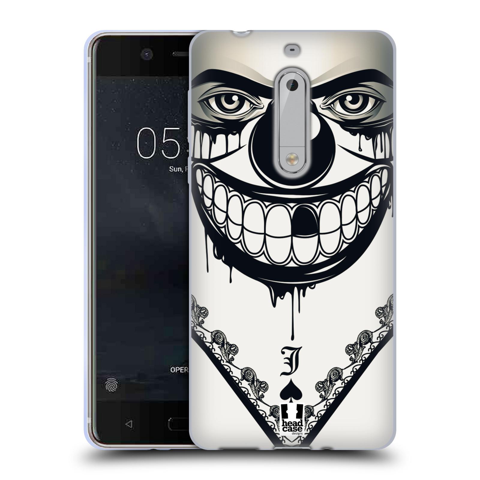 Silikonové pouzdro na mobil Nokia 5 Head Case - ZLEJ KLAUN