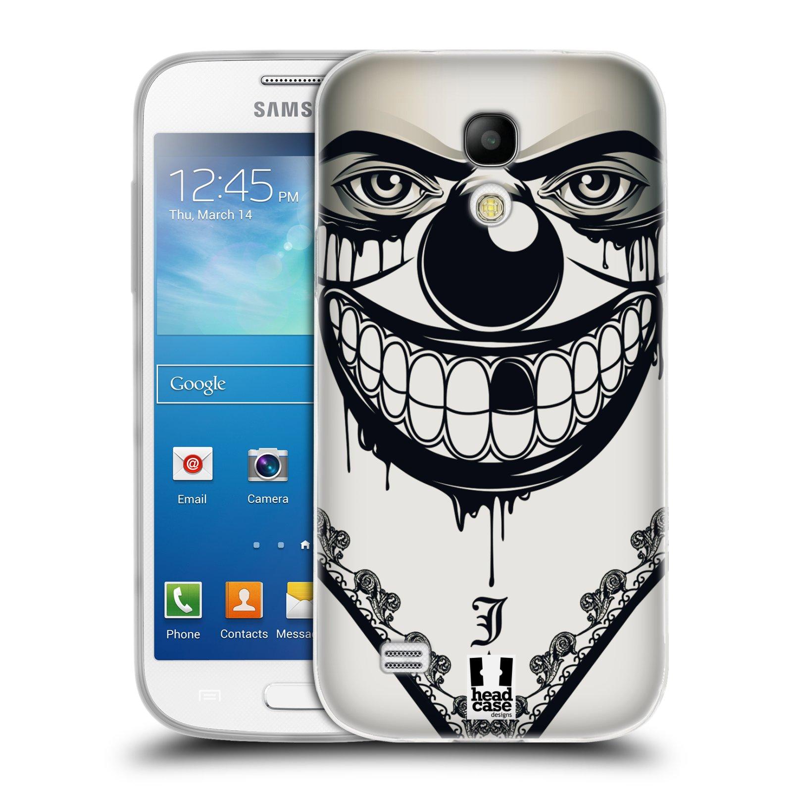 Silikonové pouzdro na mobil Samsung Galaxy S4 Mini HEAD CASE ZLEJ KLAUN