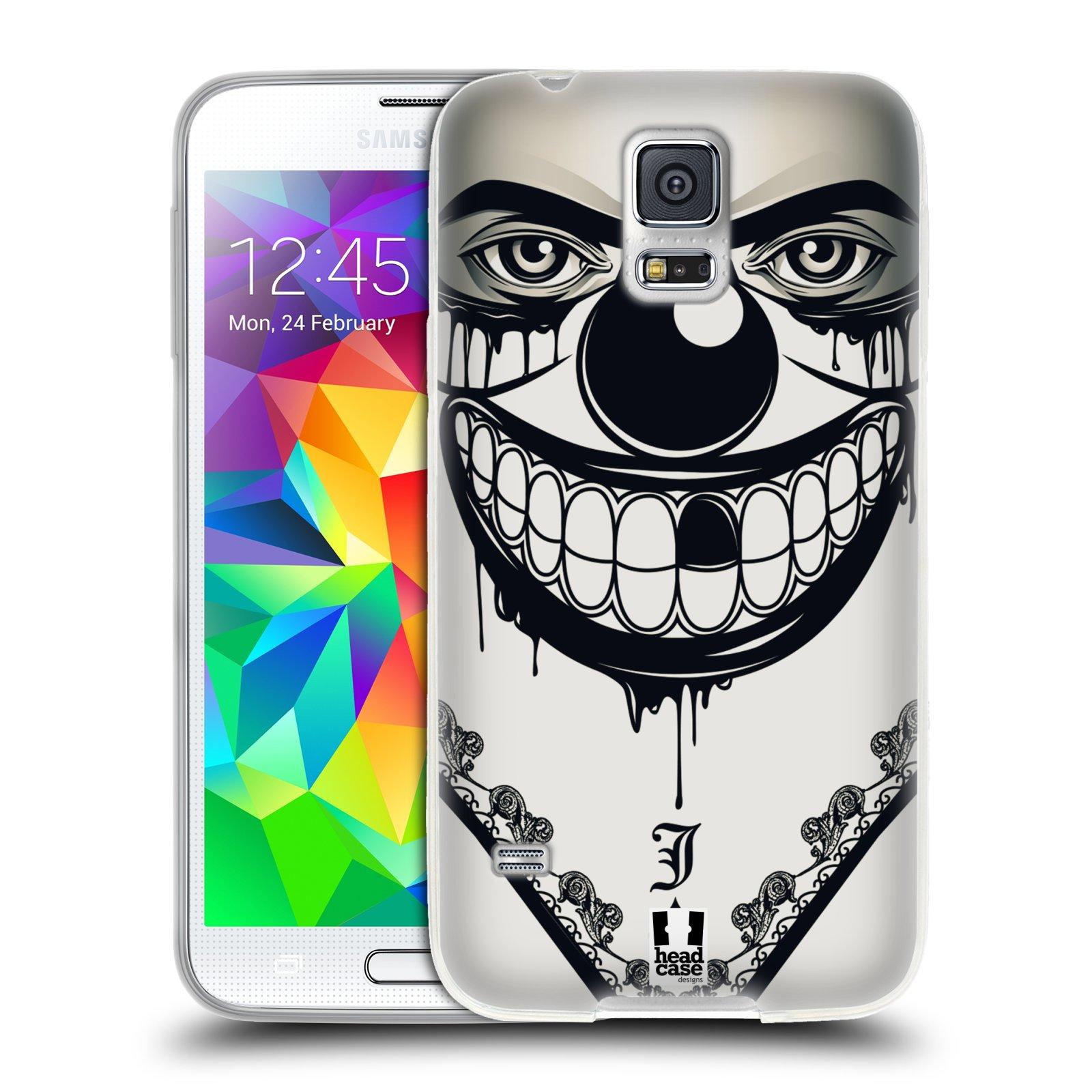 Silikonové pouzdro na mobil Samsung Galaxy S5 HEAD CASE ZLEJ KLAUN