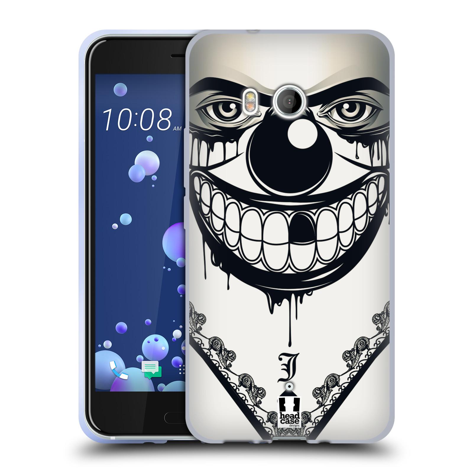 Silikonové pouzdro na mobil HTC U11 - Head Case - ZLEJ KLAUN