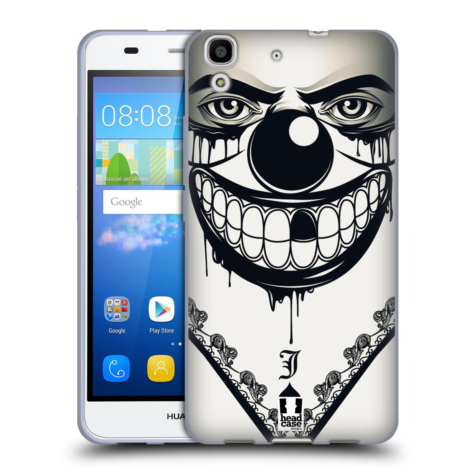Silikonové pouzdro na mobil Huawei Y6 HEAD CASE ZLEJ KLAUN