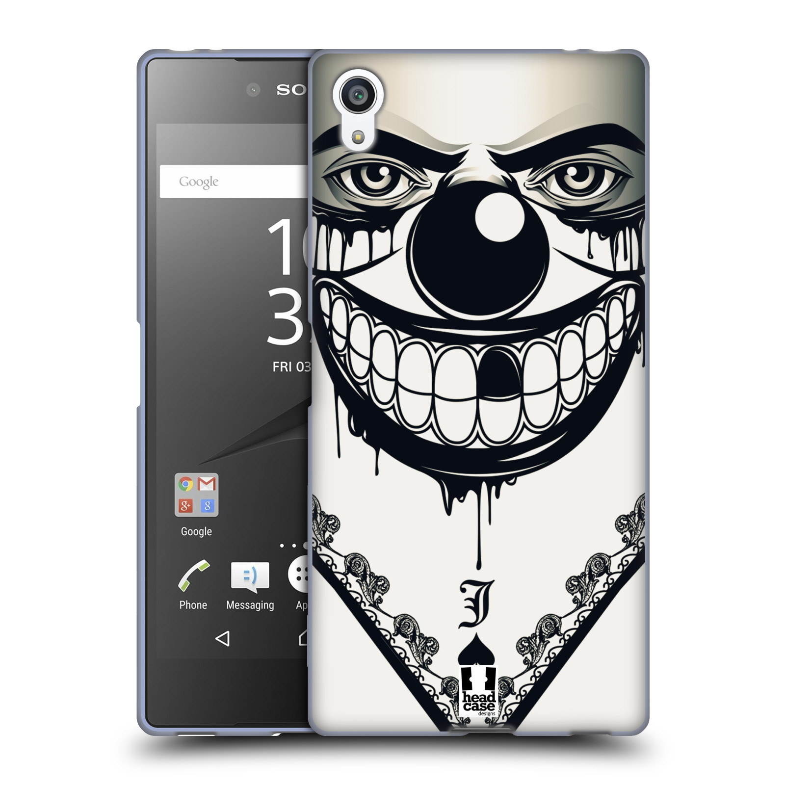 Silikonové pouzdro na mobil Sony Xperia Z5 Premium HEAD CASE ZLEJ KLAUN