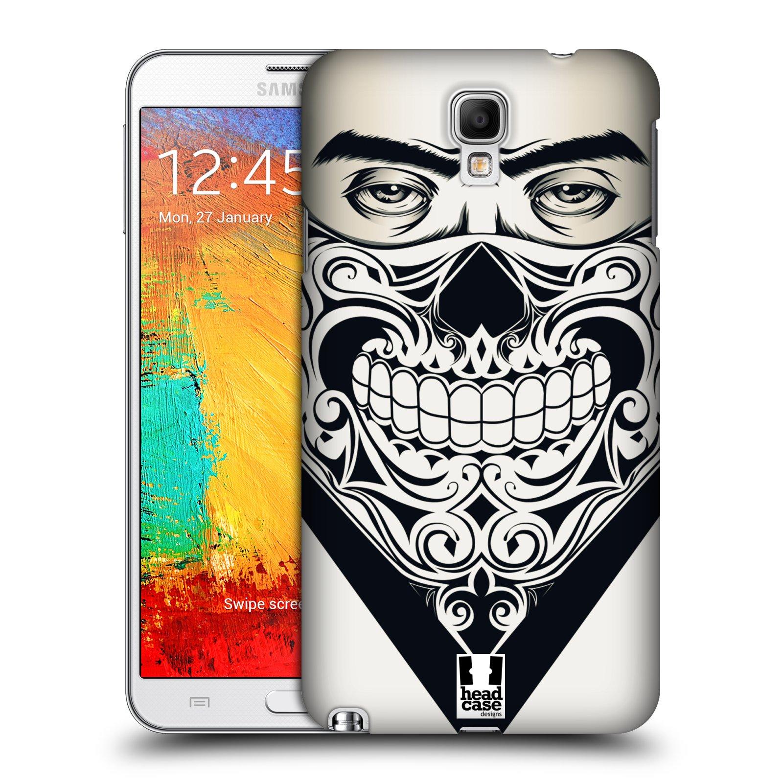 Plastové pouzdro na mobil Samsung Galaxy Note 3 Neo HEAD CASE LEBKA BANDANA (Kryt či obal na mobilní telefon Samsung Galaxy Note 3 Neo SM-N7505)