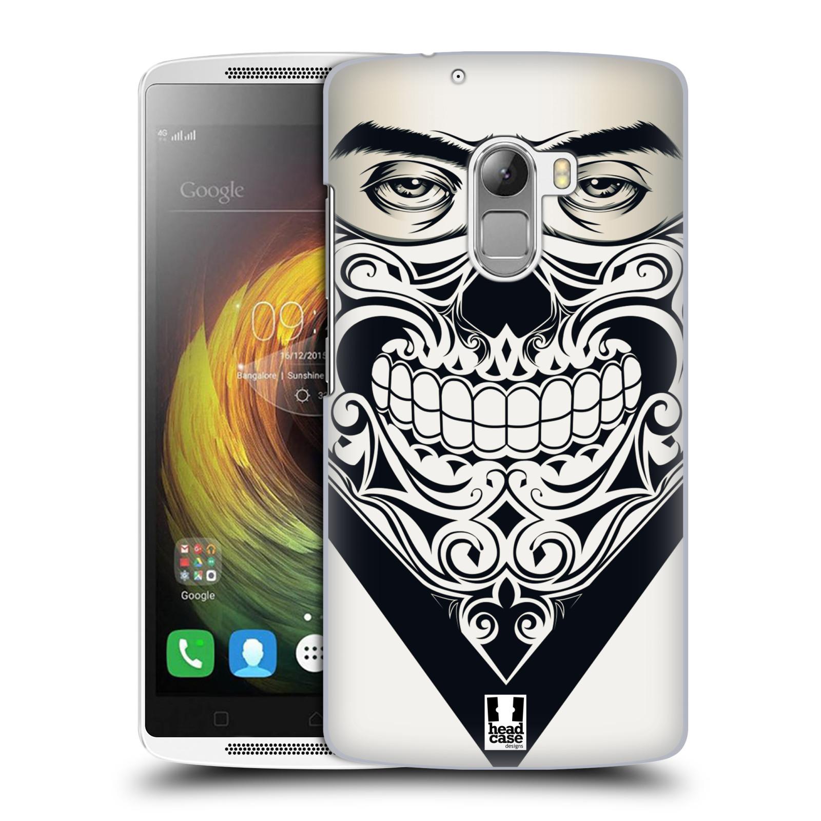 Plastové pouzdro na mobil Lenovo A7010 HEAD CASE LEBKA BANDANA