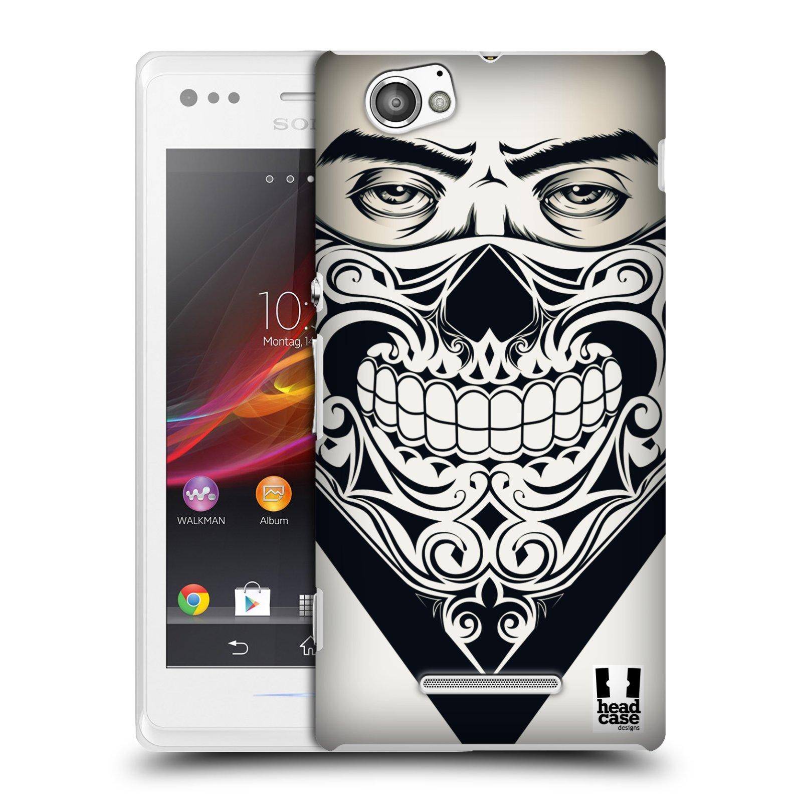 Plastové pouzdro na mobil Sony Xperia M C1905 HEAD CASE LEBKA BANDANA