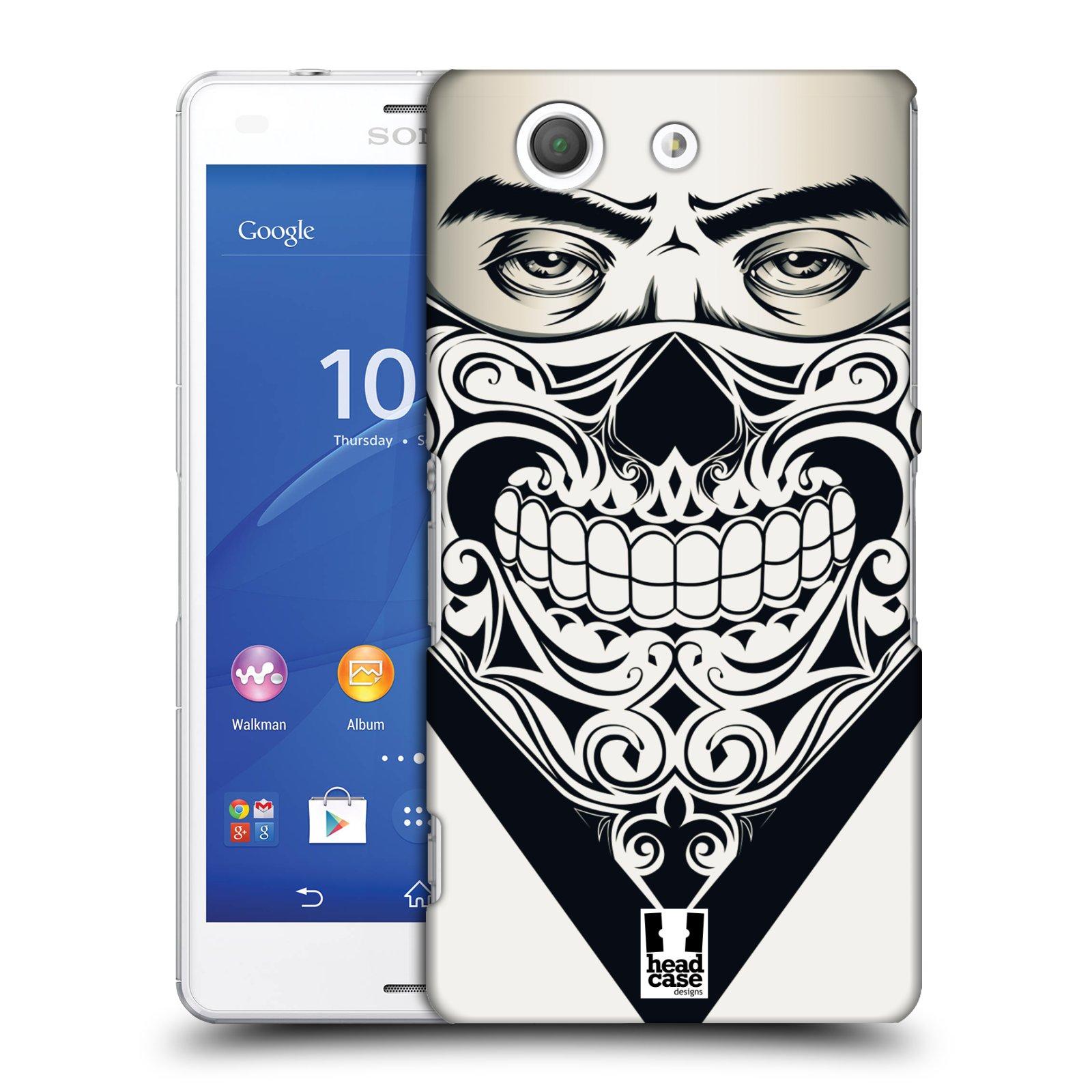 Plastové pouzdro na mobil Sony Xperia Z3 Compact D5803 HEAD CASE LEBKA BANDANA