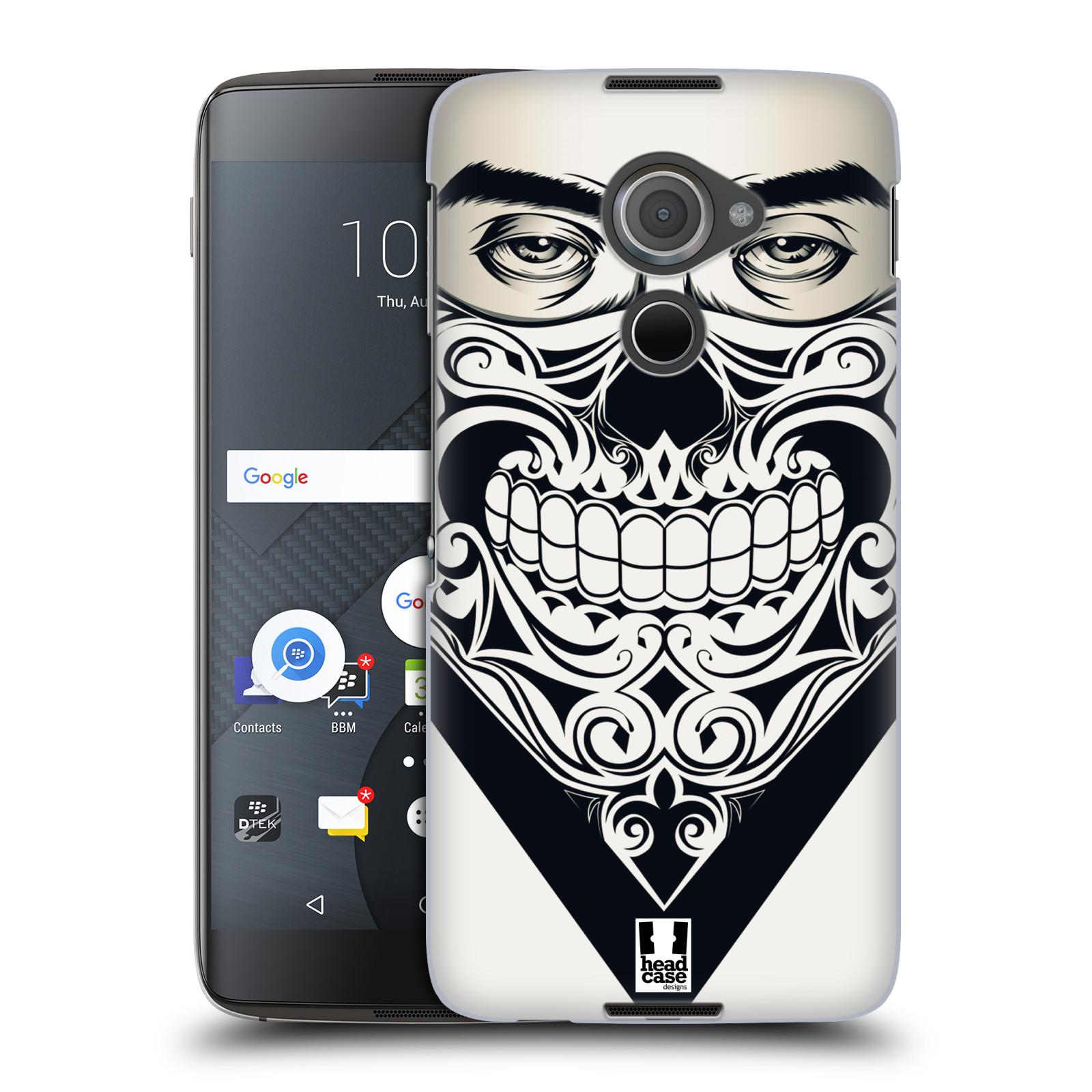 Plastové pouzdro na mobil Blackberry DTEK60 (Argon) - Head Case LEBKA BANDANA