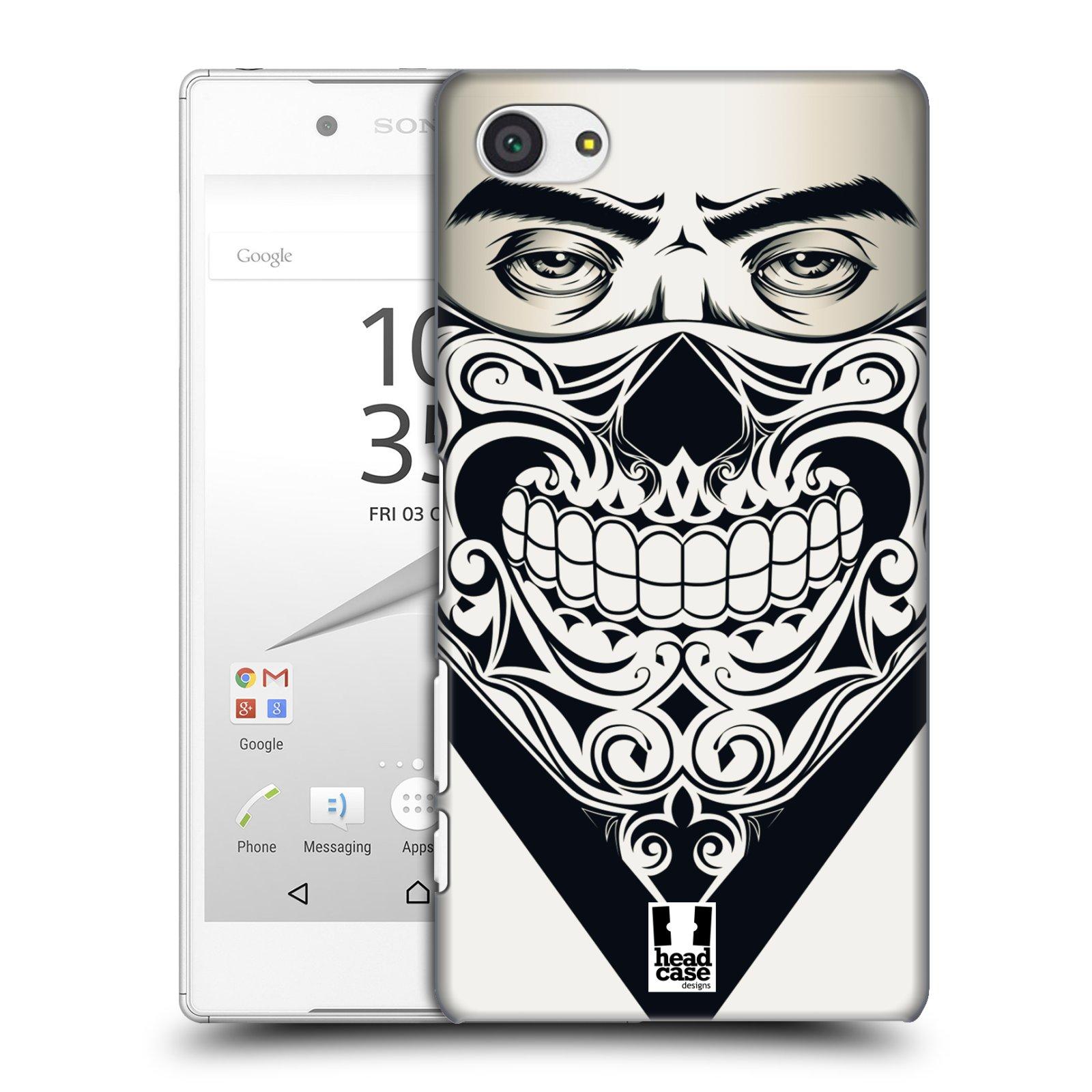 Plastové pouzdro na mobil Sony Xperia Z5 Compact HEAD CASE LEBKA BANDANA