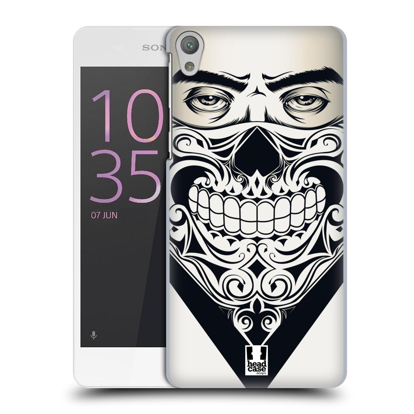 Plastové pouzdro na mobil Sony Xperia E5 HEAD CASE LEBKA BANDANA
