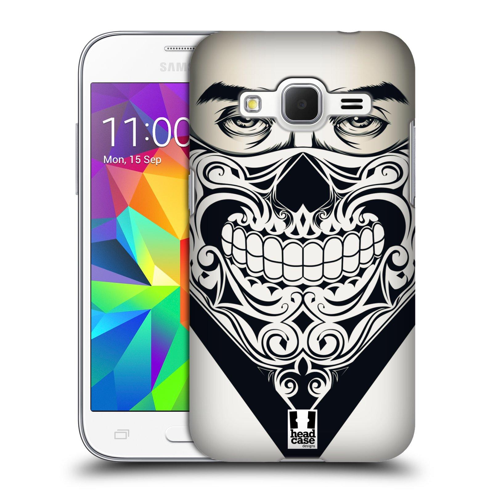 Plastové pouzdro na mobil Samsung Galaxy Core Prime LTE HEAD CASE LEBKA BANDANA