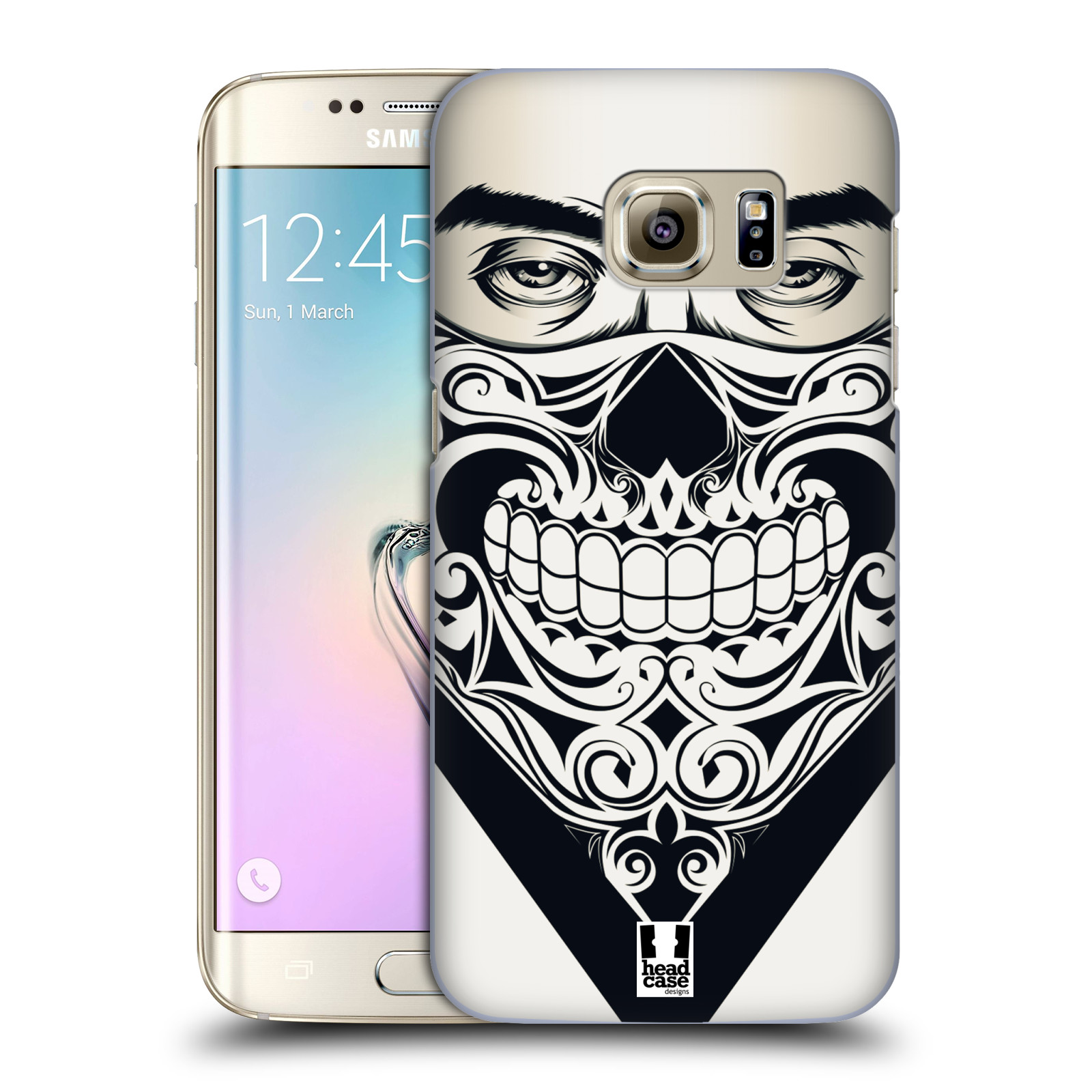 Plastové pouzdro na mobil Samsung Galaxy S7 Edge HEAD CASE LEBKA BANDANA