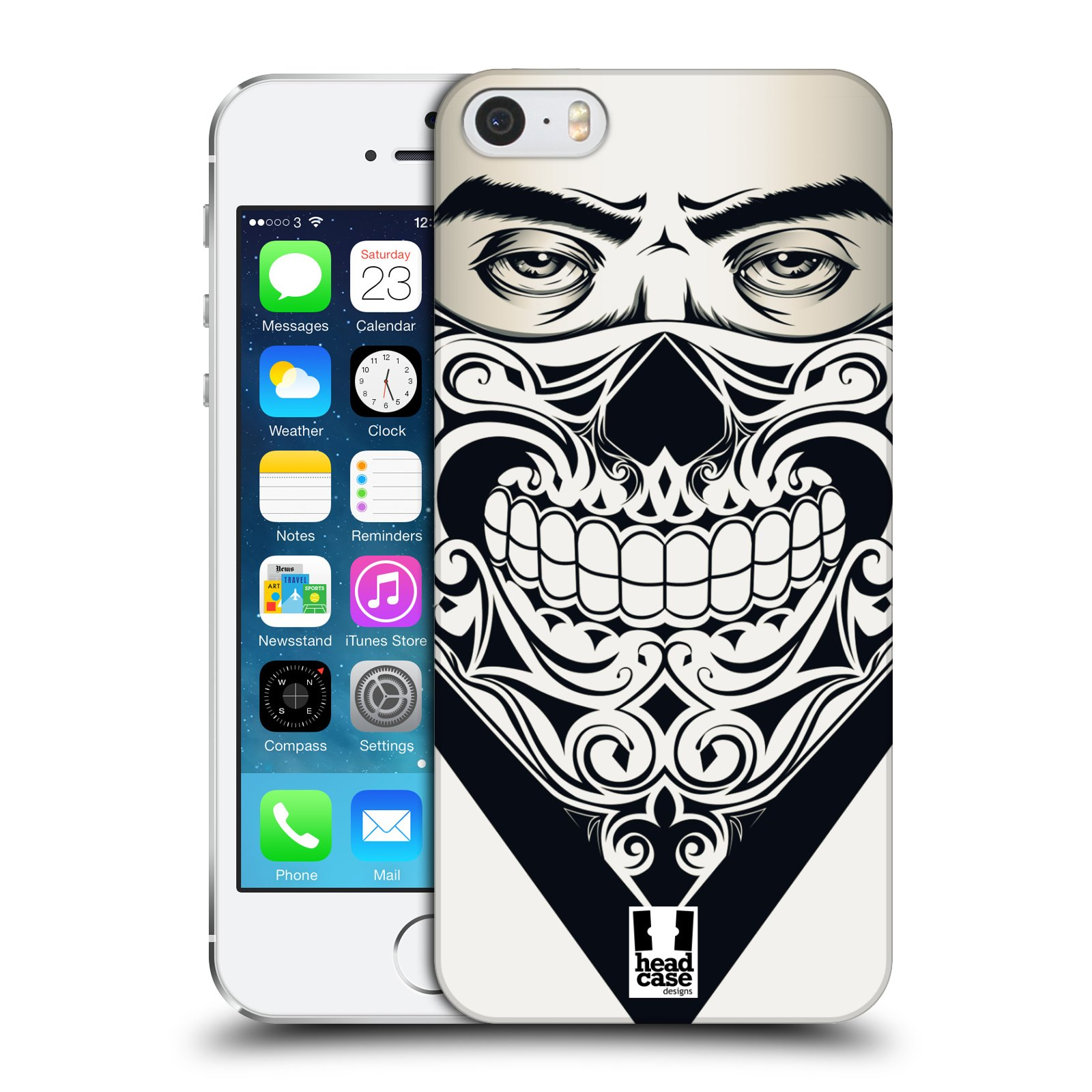 Plastové pouzdro na mobil Apple iPhone SE, 5 a 5S HEAD CASE LEBKA BANDANA