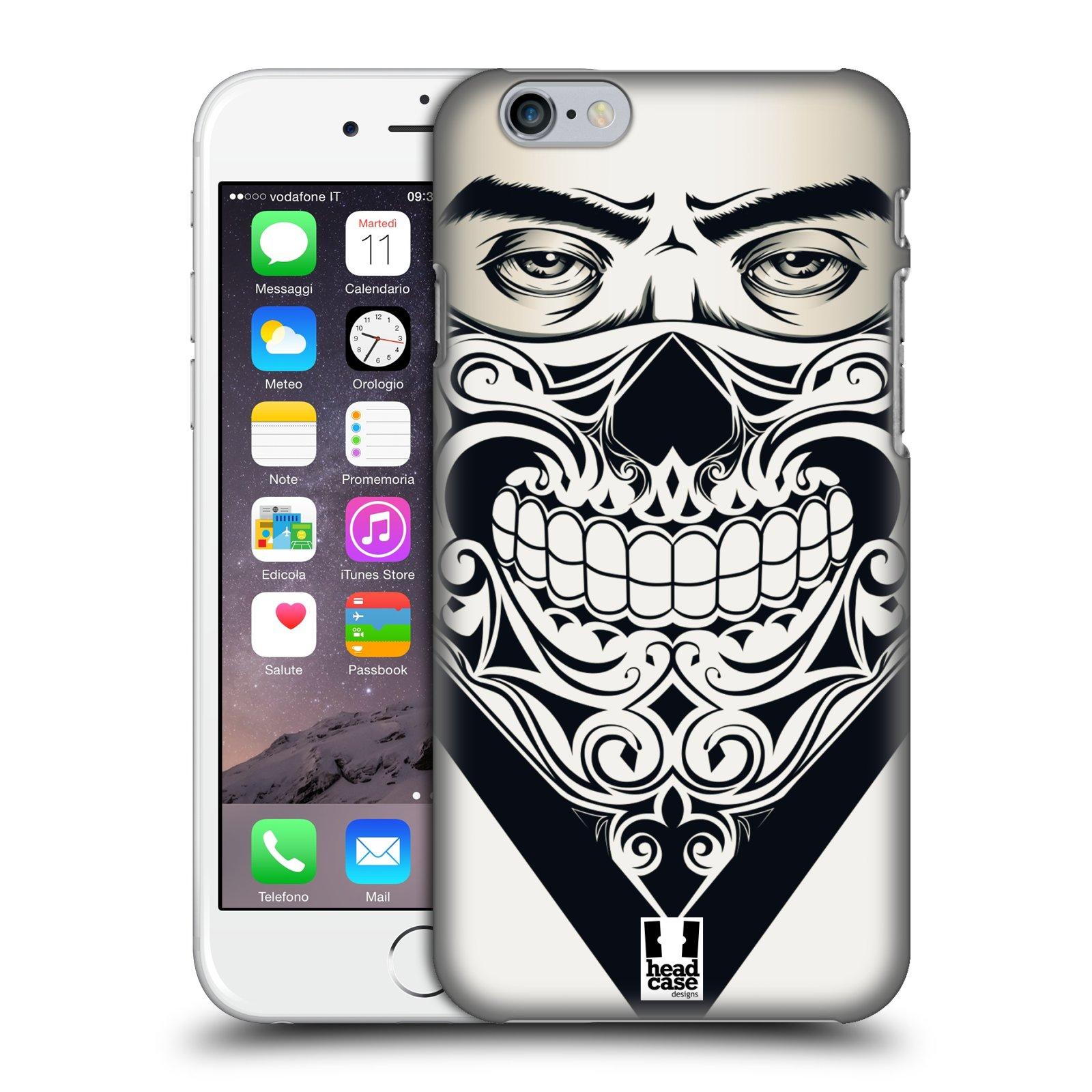 Plastové pouzdro na mobil Apple iPhone 6 a 6S HEAD CASE LEBKA BANDANA