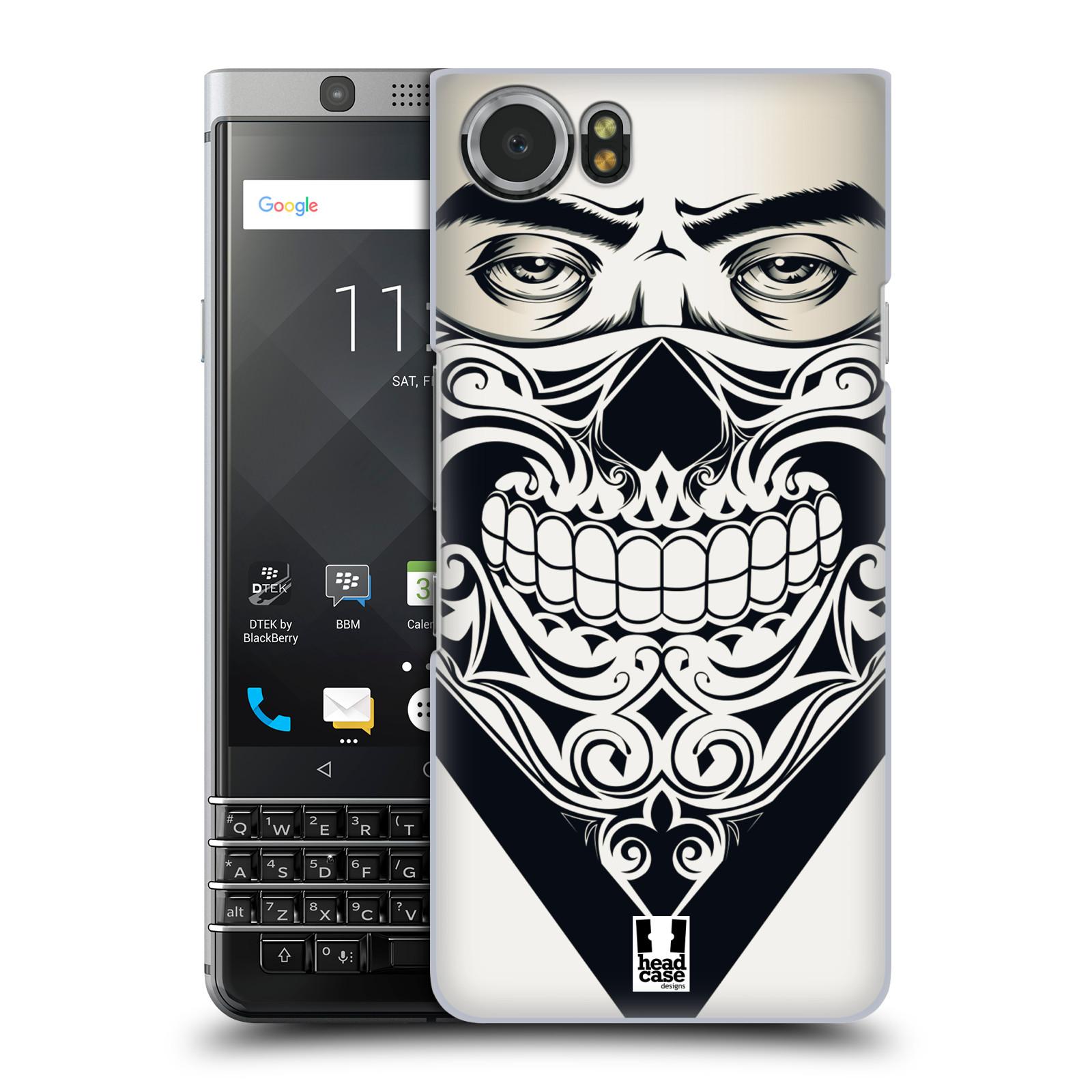 Plastové pouzdro na mobil BlackBerry KEYone - Head Case - LEBKA BANDANA