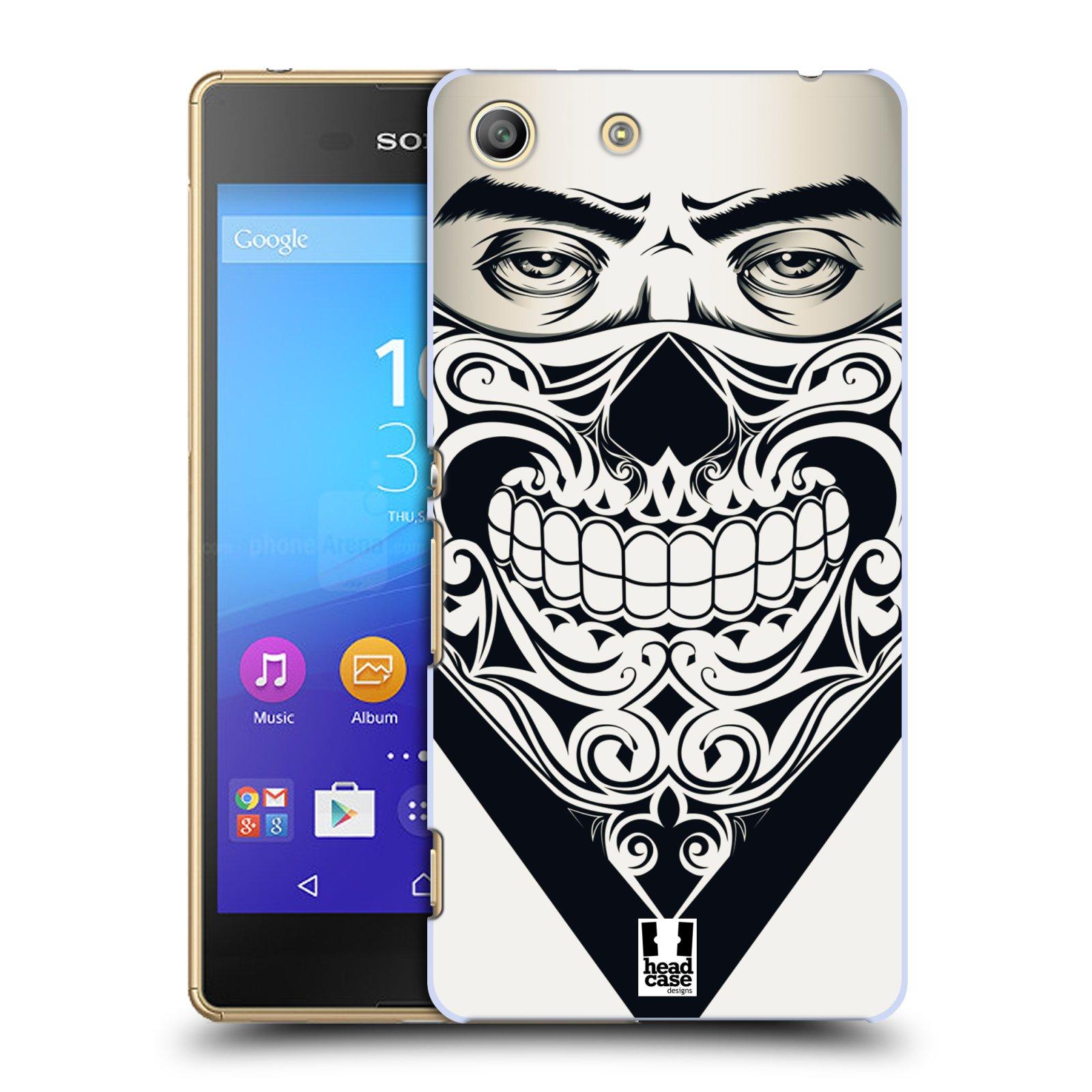 Plastové pouzdro na mobil Sony Xperia M5 HEAD CASE LEBKA BANDANA