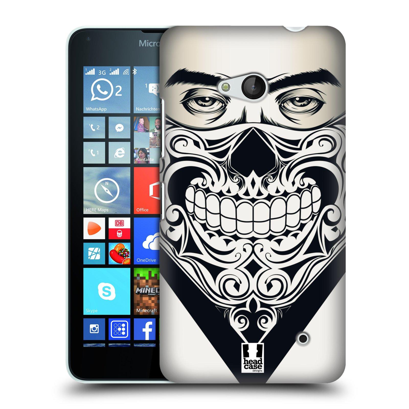 Plastové pouzdro na mobil Microsoft Lumia 640 HEAD CASE LEBKA BANDANA