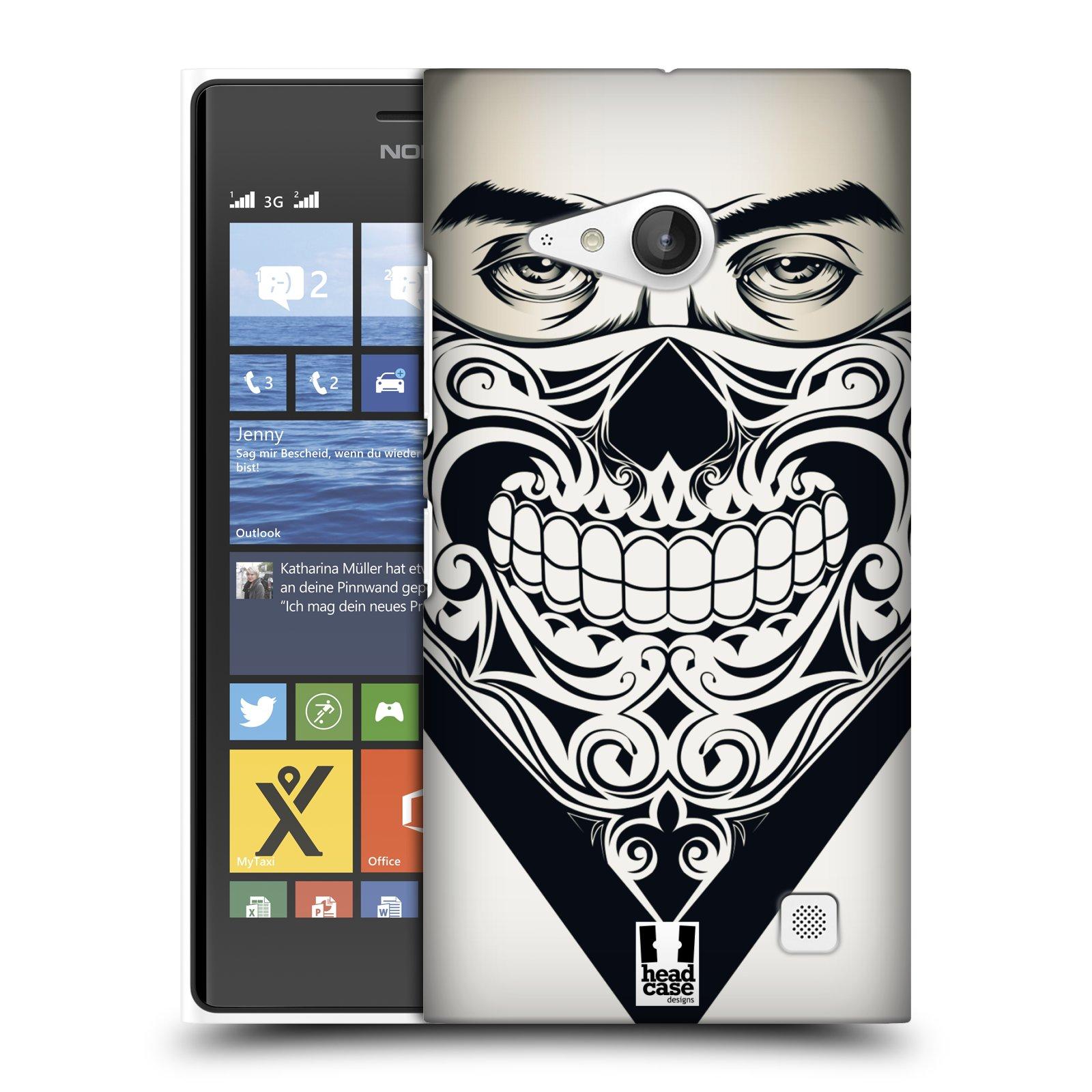 Plastové pouzdro na mobil Nokia Lumia 735 HEAD CASE LEBKA BANDANA