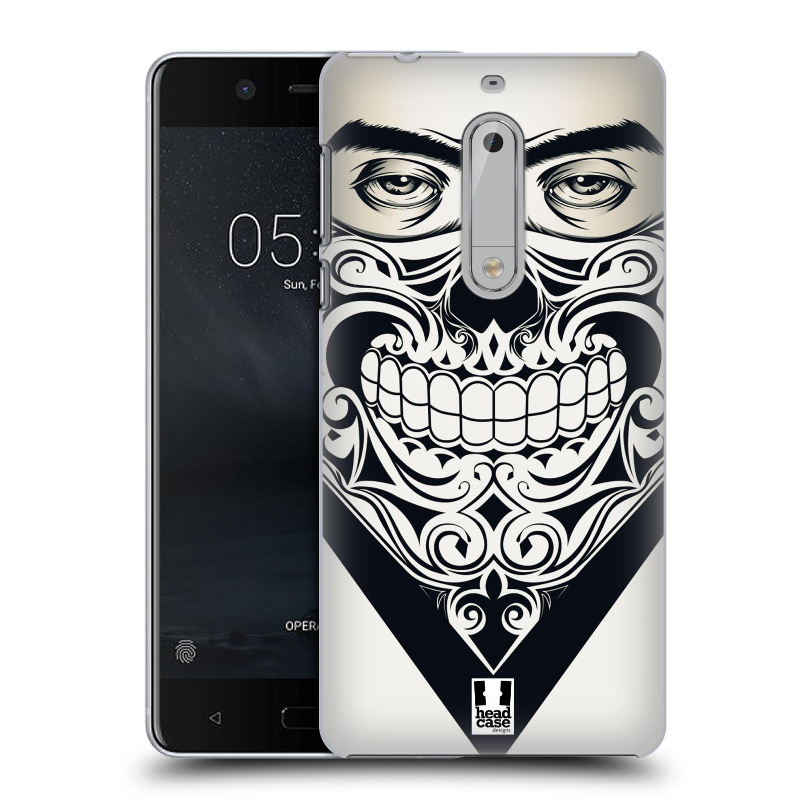 Plastové pouzdro na mobil Nokia 5 Head Case - LEBKA BANDANA