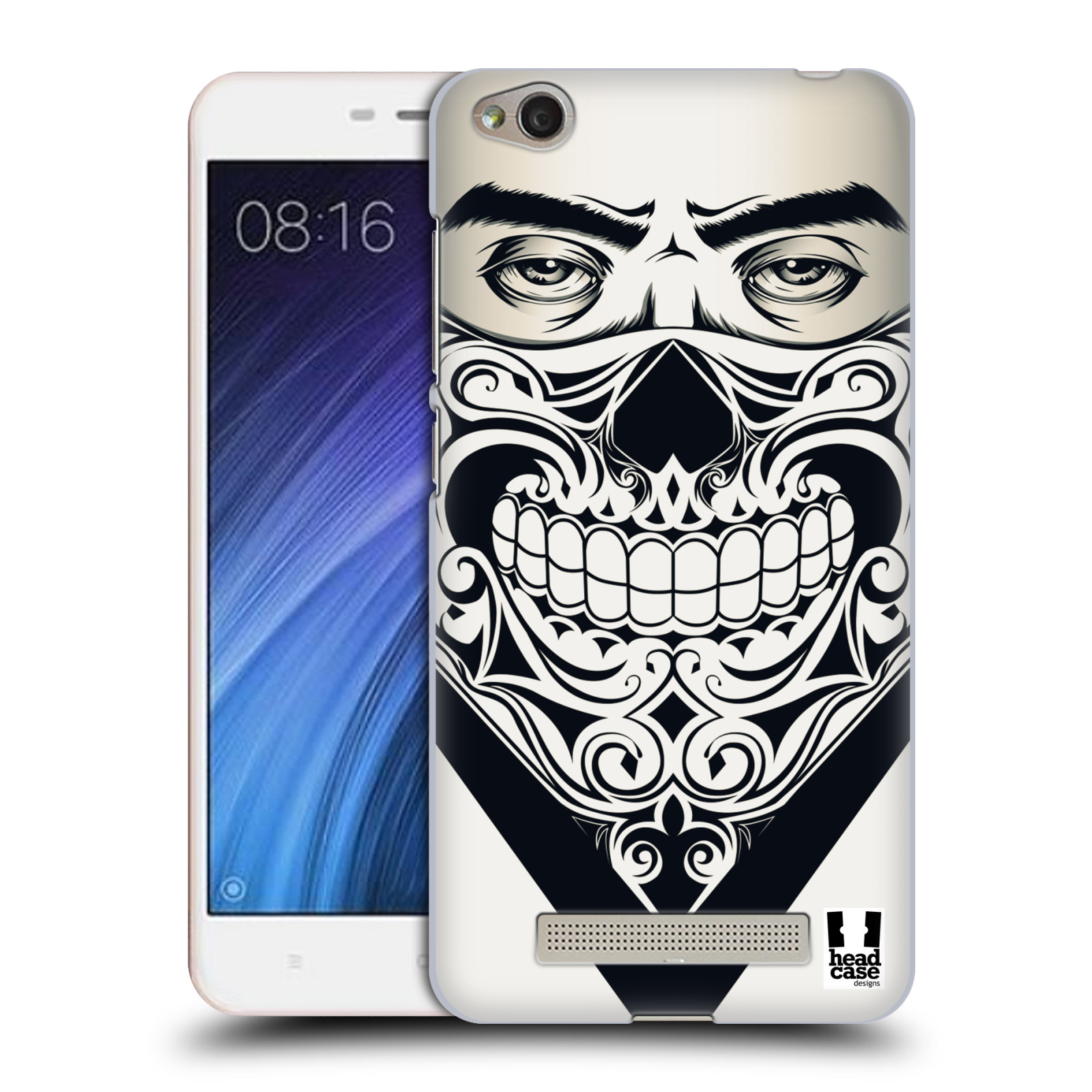 Plastové pouzdro na mobil Xiaomi Redmi 4A HEAD CASE LEBKA BANDANA