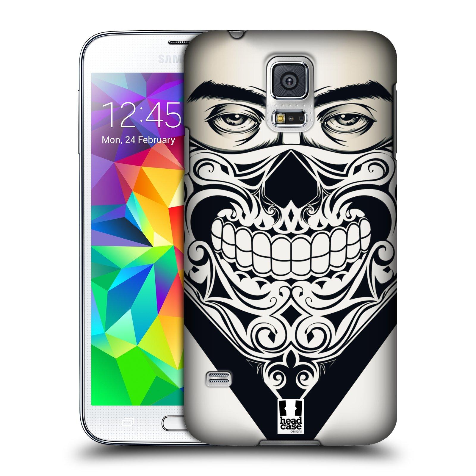 Plastové pouzdro na mobil Samsung Galaxy S5 HEAD CASE LEBKA BANDANA