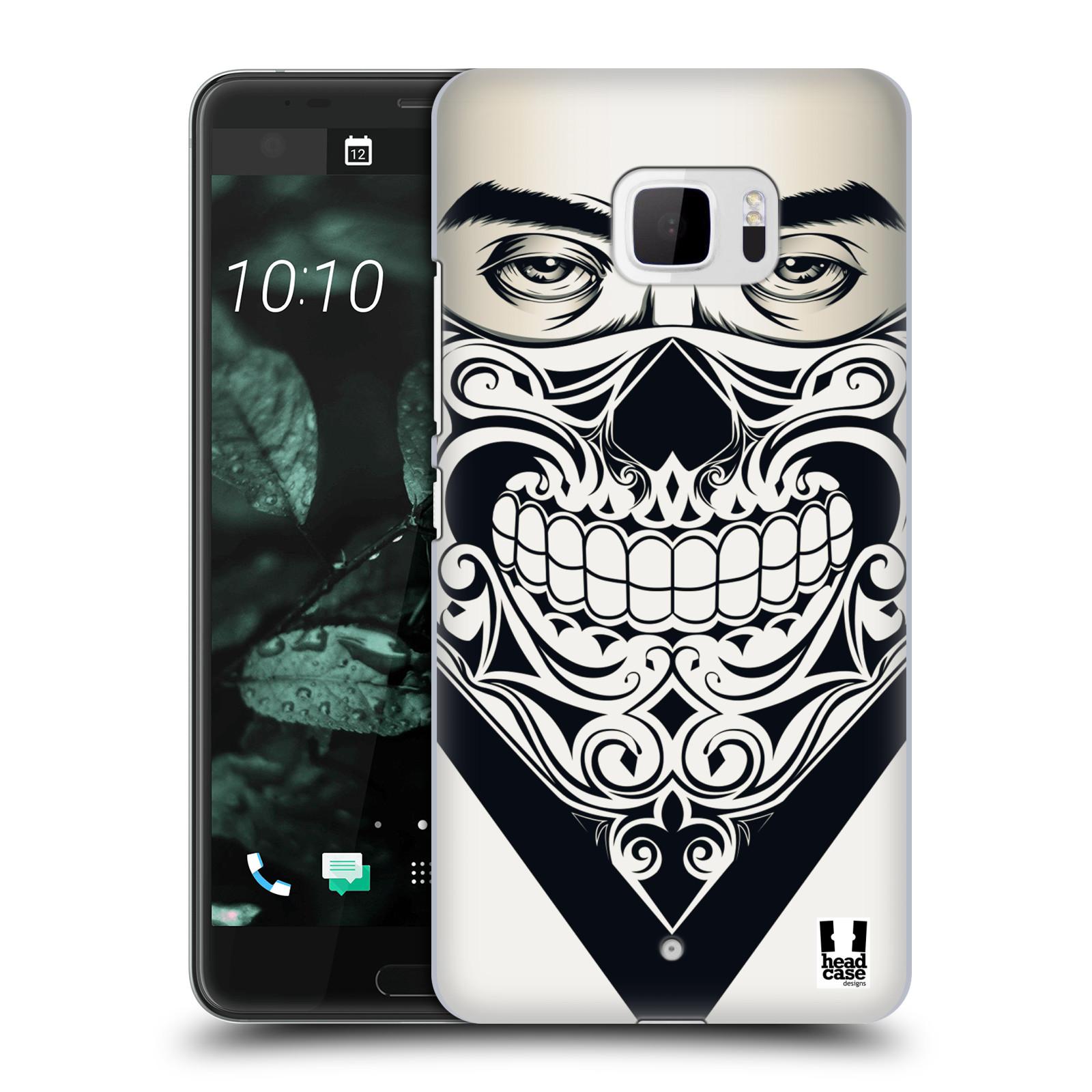 Plastové pouzdro na mobil HTC U Ultra Head Case - LEBKA BANDANA (Plastový kryt či obal na mobilní telefon HTC U Ultra (99HALT015-00))
