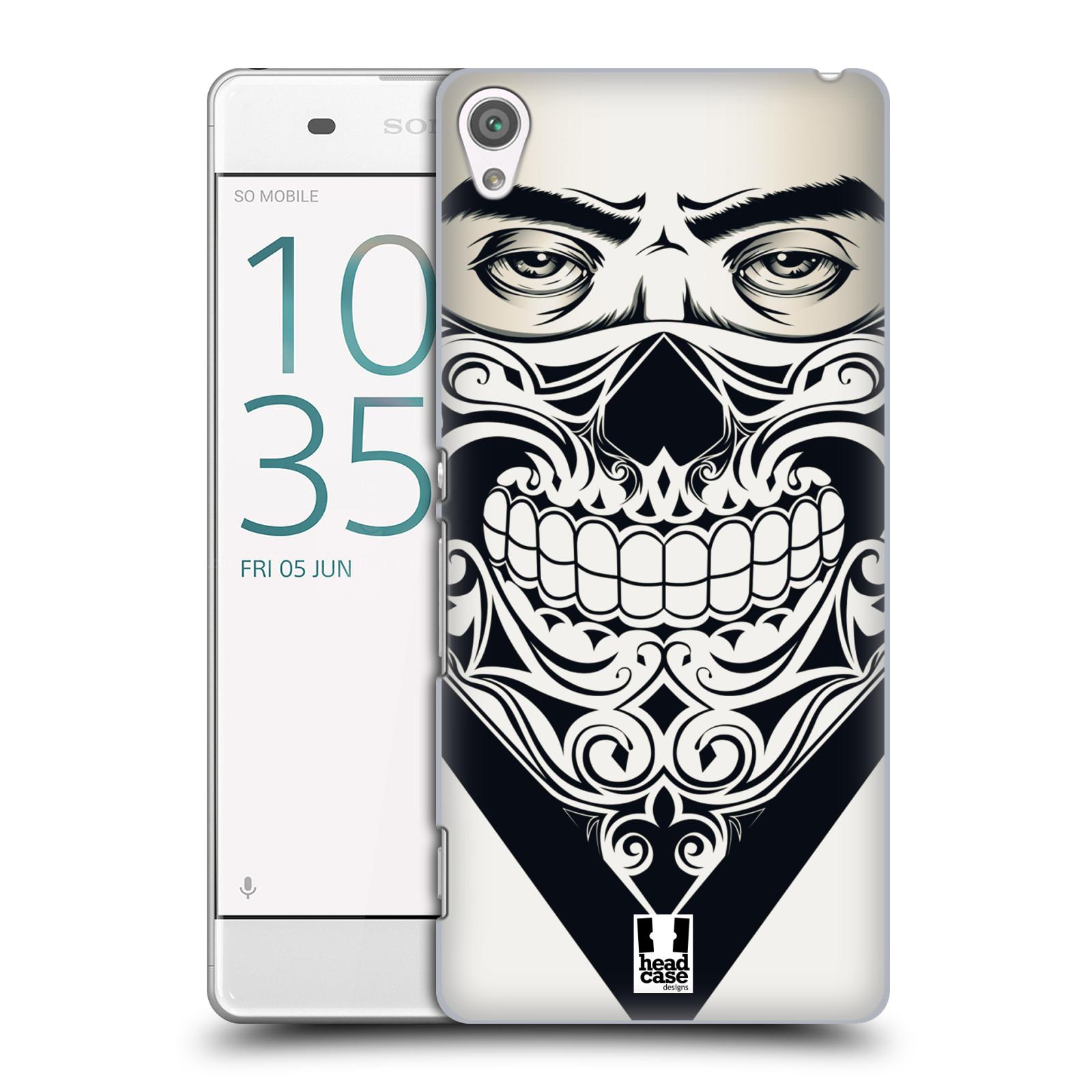 Plastové pouzdro na mobil Sony Xperia XA HEAD CASE LEBKA BANDANA