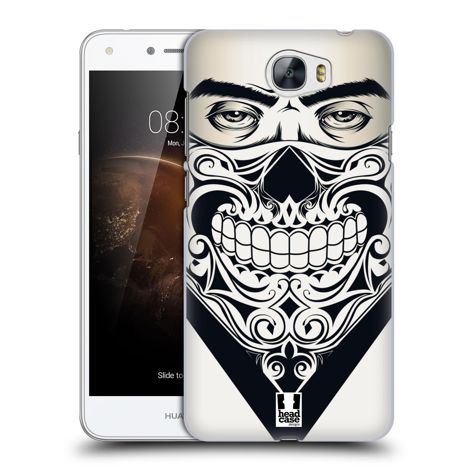 Plastové pouzdro na mobil Huawei Y5 II HEAD CASE LEBKA BANDANA