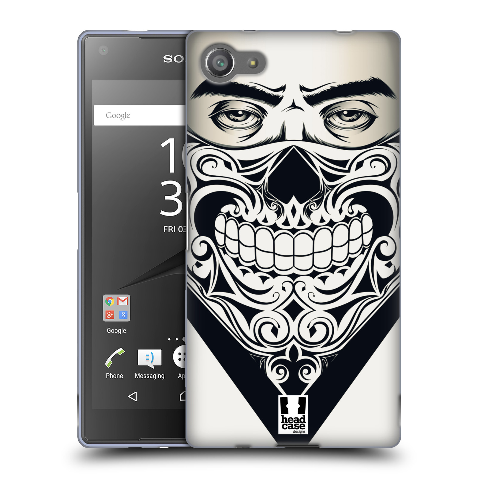 Silikonové pouzdro na mobil Sony Xperia Z5 Compact HEAD CASE LEBKA BANDANA