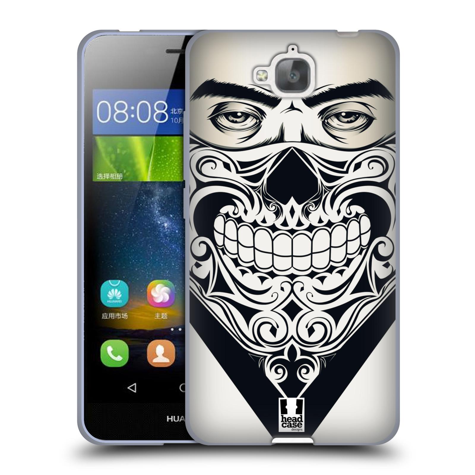 Silikonové pouzdro na mobil Huawei Y6 Pro Dual Sim HEAD CASE LEBKA BANDANA