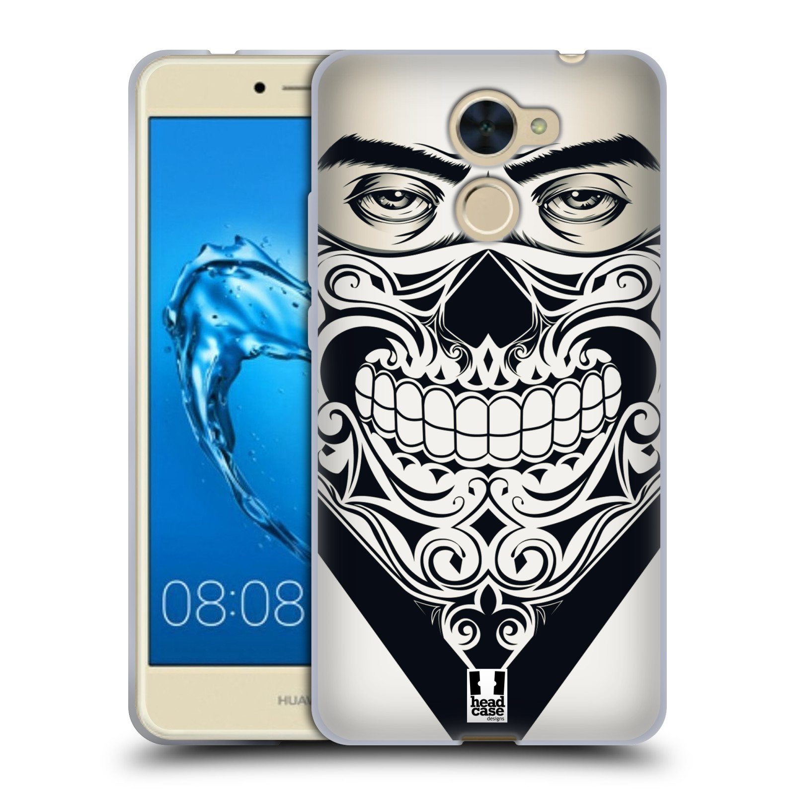 Silikonové pouzdro na mobil Huawei Y7 - Head Case - LEBKA BANDANA